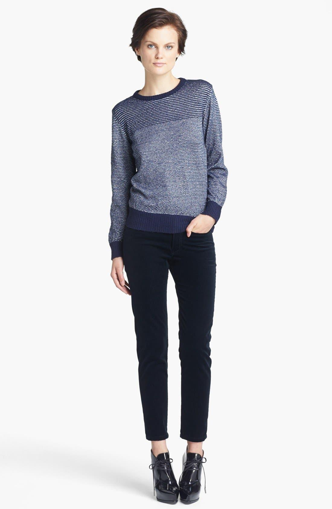 Alternate Image 2  - A.P.C. Stripe Sweater