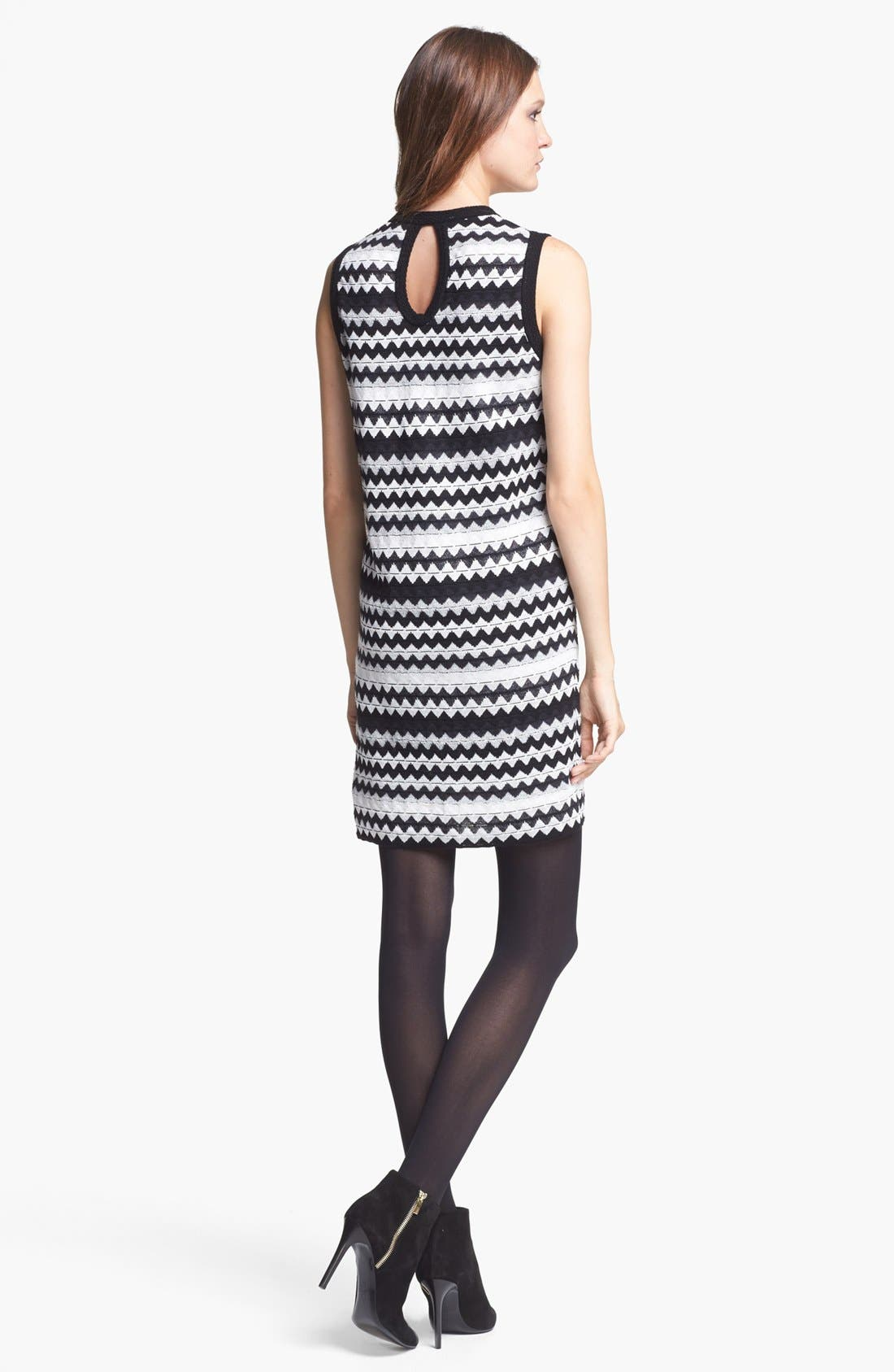 Alternate Image 2  - M Missoni Zigzag Shift Dress