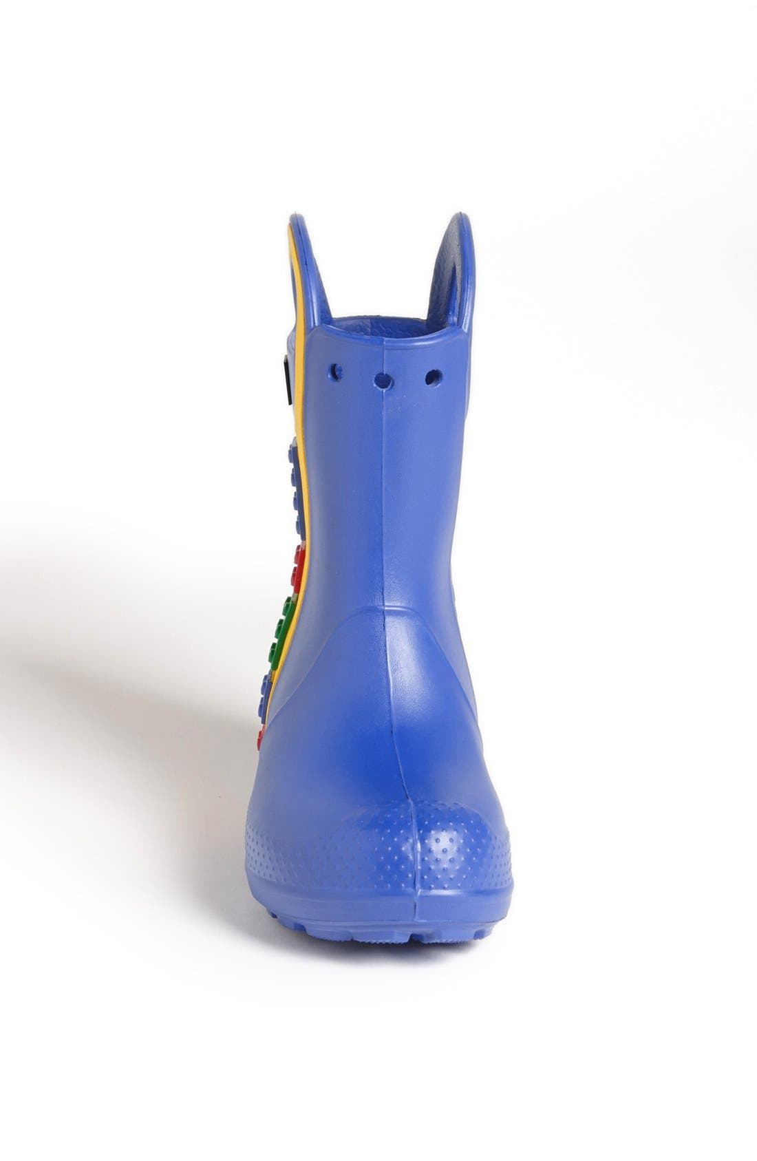 Alternate Image 3  - CROCS™ 'Handle It - LEGO®' Rain Boot (Walker, Toddler & Little Kid)