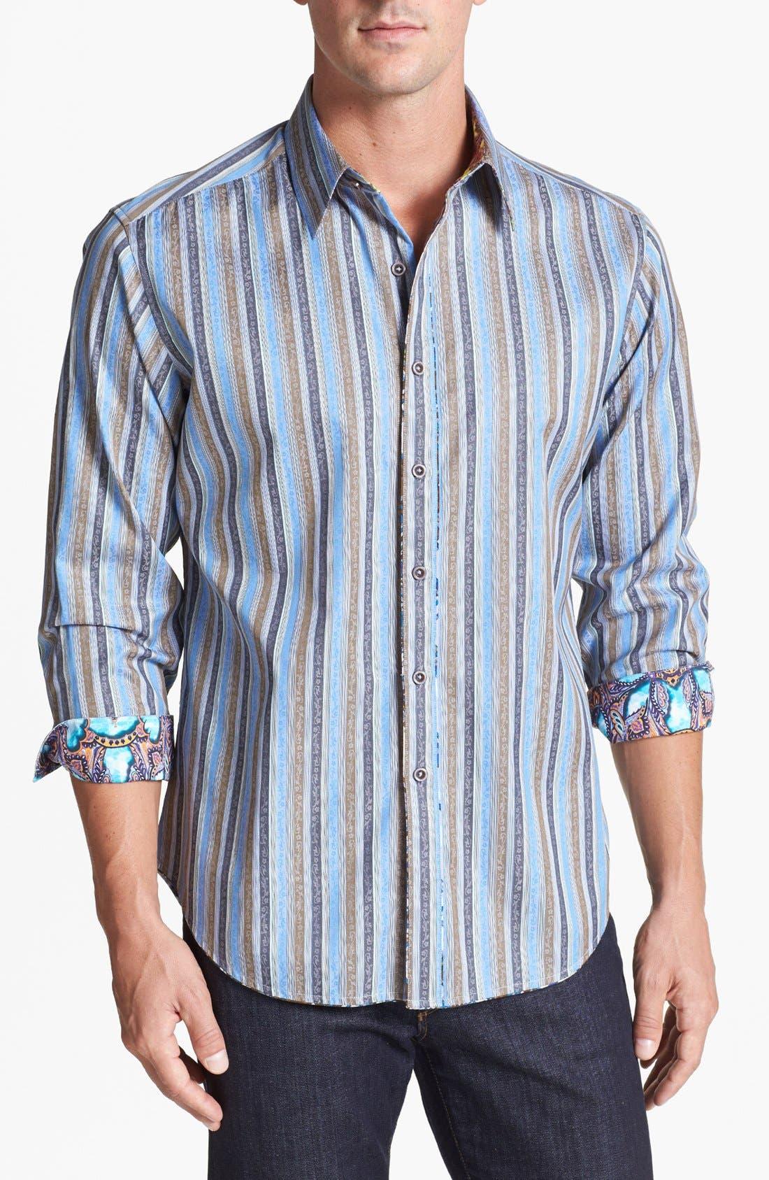 Alternate Image 1 Selected - Robert Graham 'Davis' Regular Fit Sport Shirt