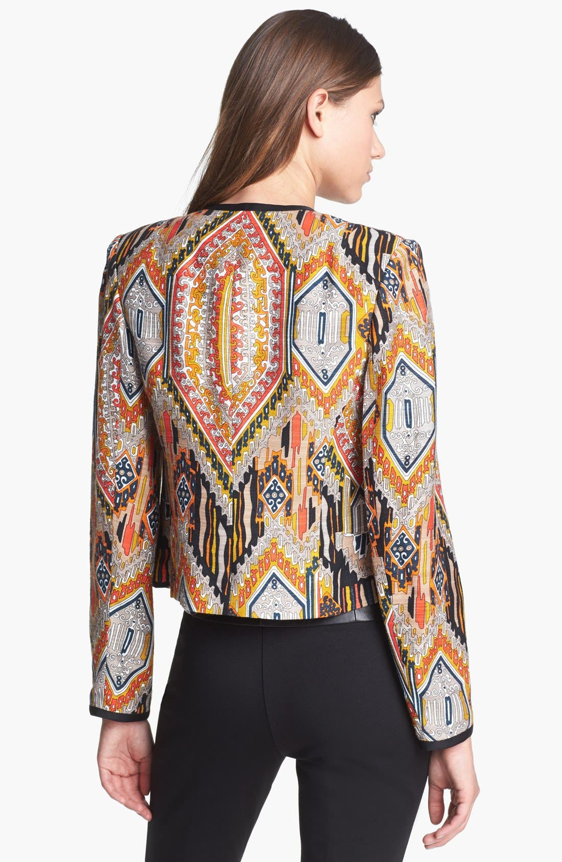 Alternate Image 2  - Trina Turk 'Moderna' Crop Jacket