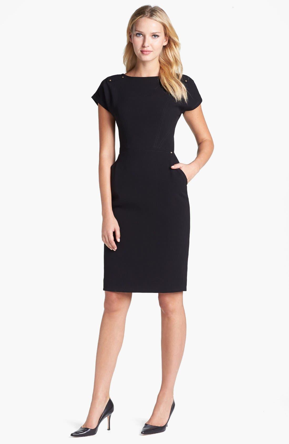 Alternate Image 1 Selected - Rachel Roy Stud Detail Scoop Back Sheath Dress