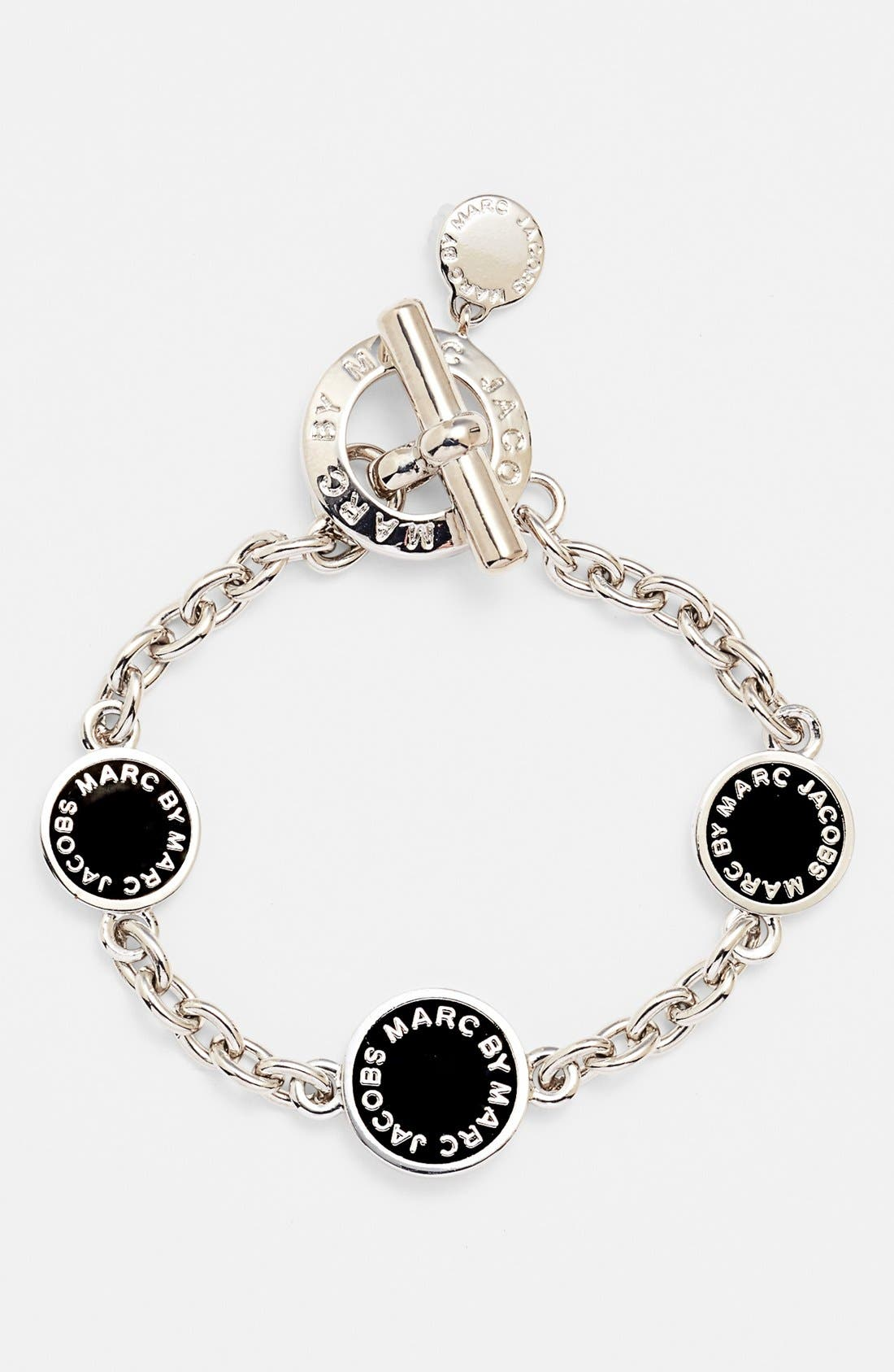 Alternate Image 1 Selected - MARC BY MARC JACOBS 'Classic Marc' Station Link Bracelet