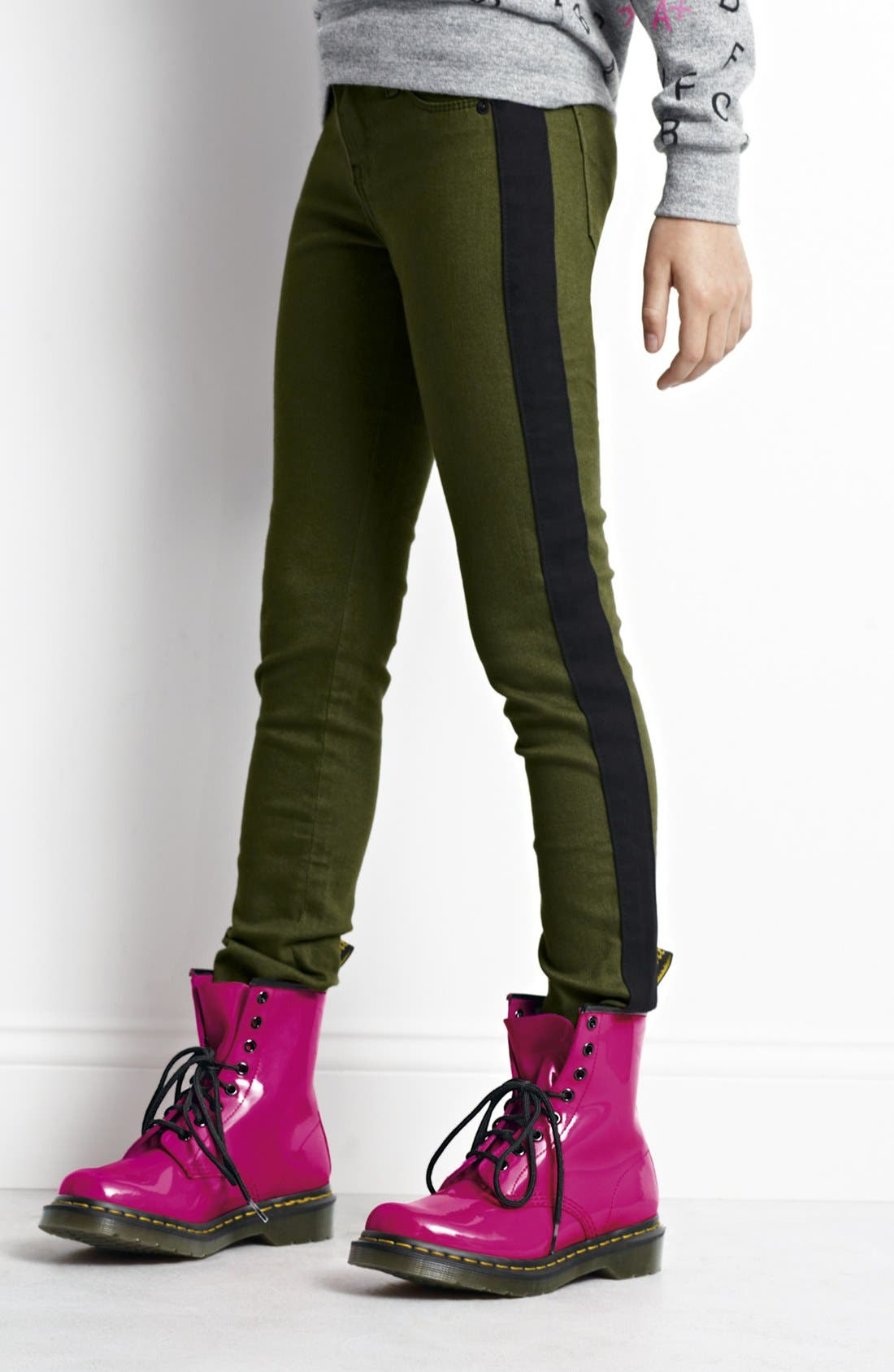 Alternate Image 3  - Hudson Kids 'Lelo' Skinny Jeans (Big Girls)