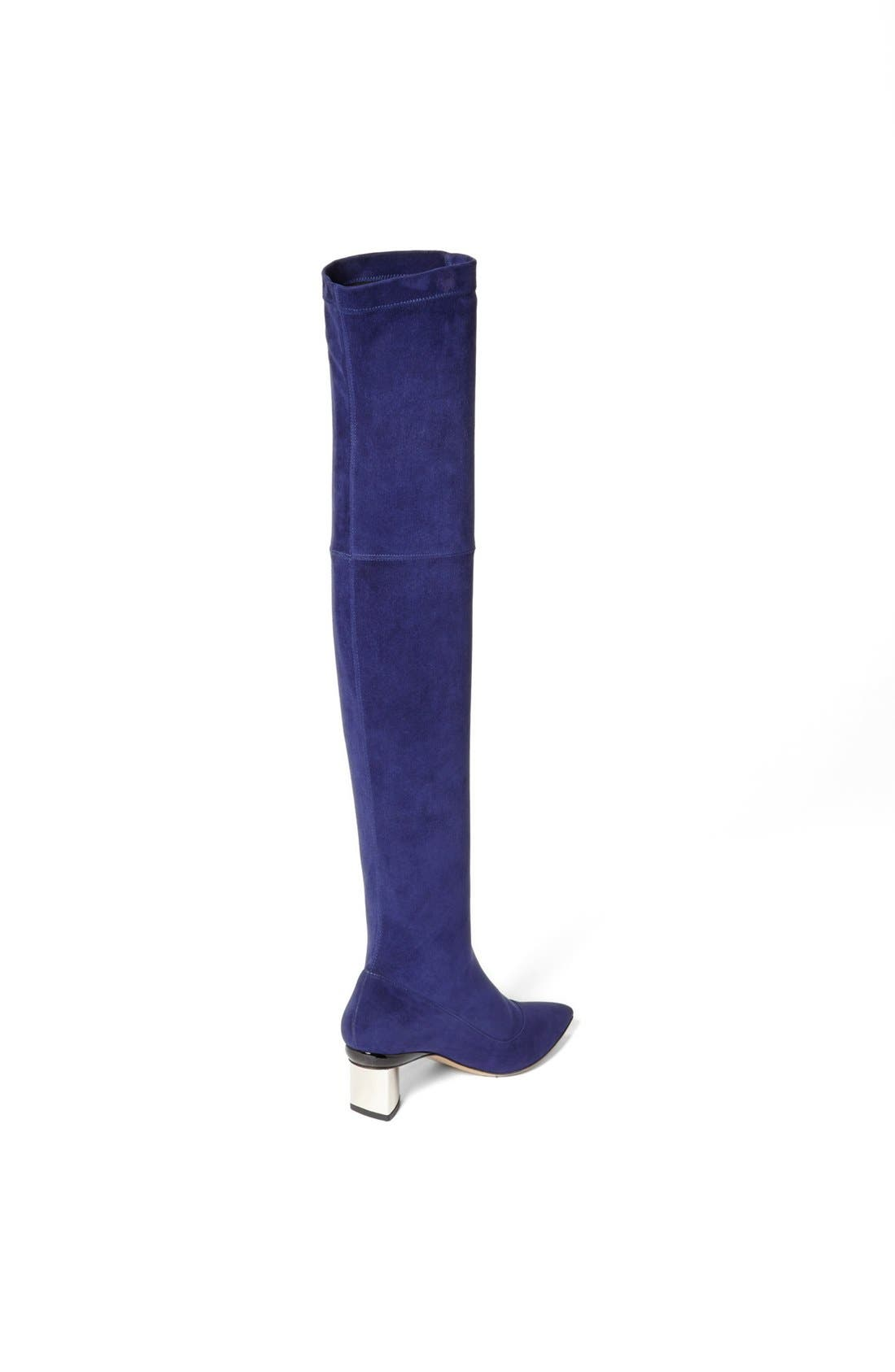 Alternate Image 4  - Nicholas Kirkwood Suede Over the Knee Boot