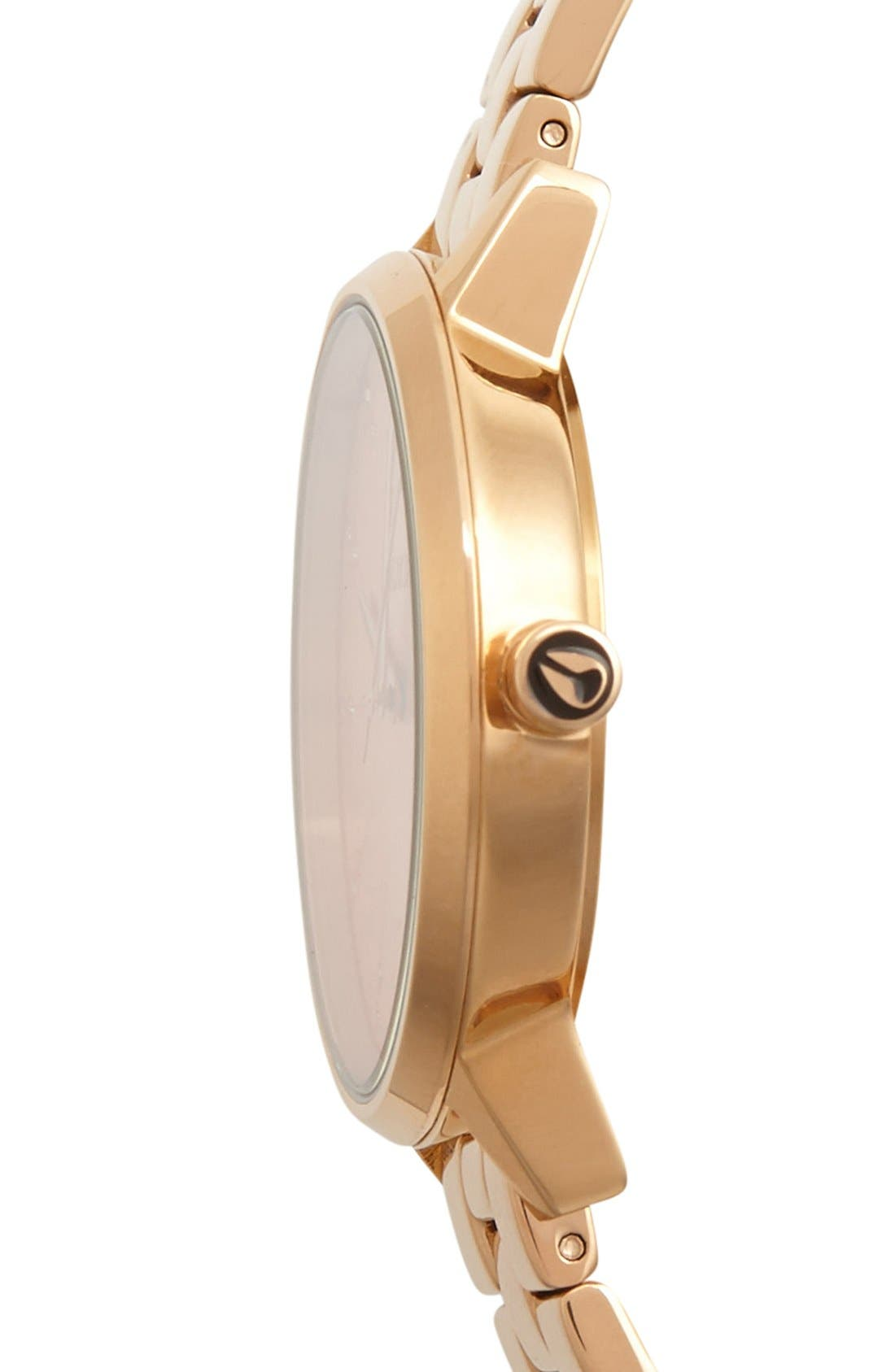 Alternate Image 3  - Nixon 'Kensington' Crystal Bracelet Watch, 37mm