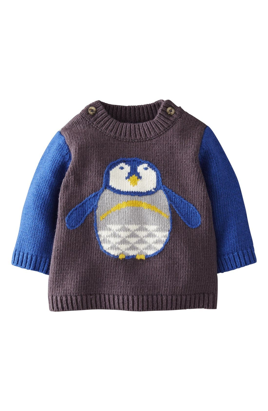 Main Image - Mini Boden Sweater (Baby Boys)