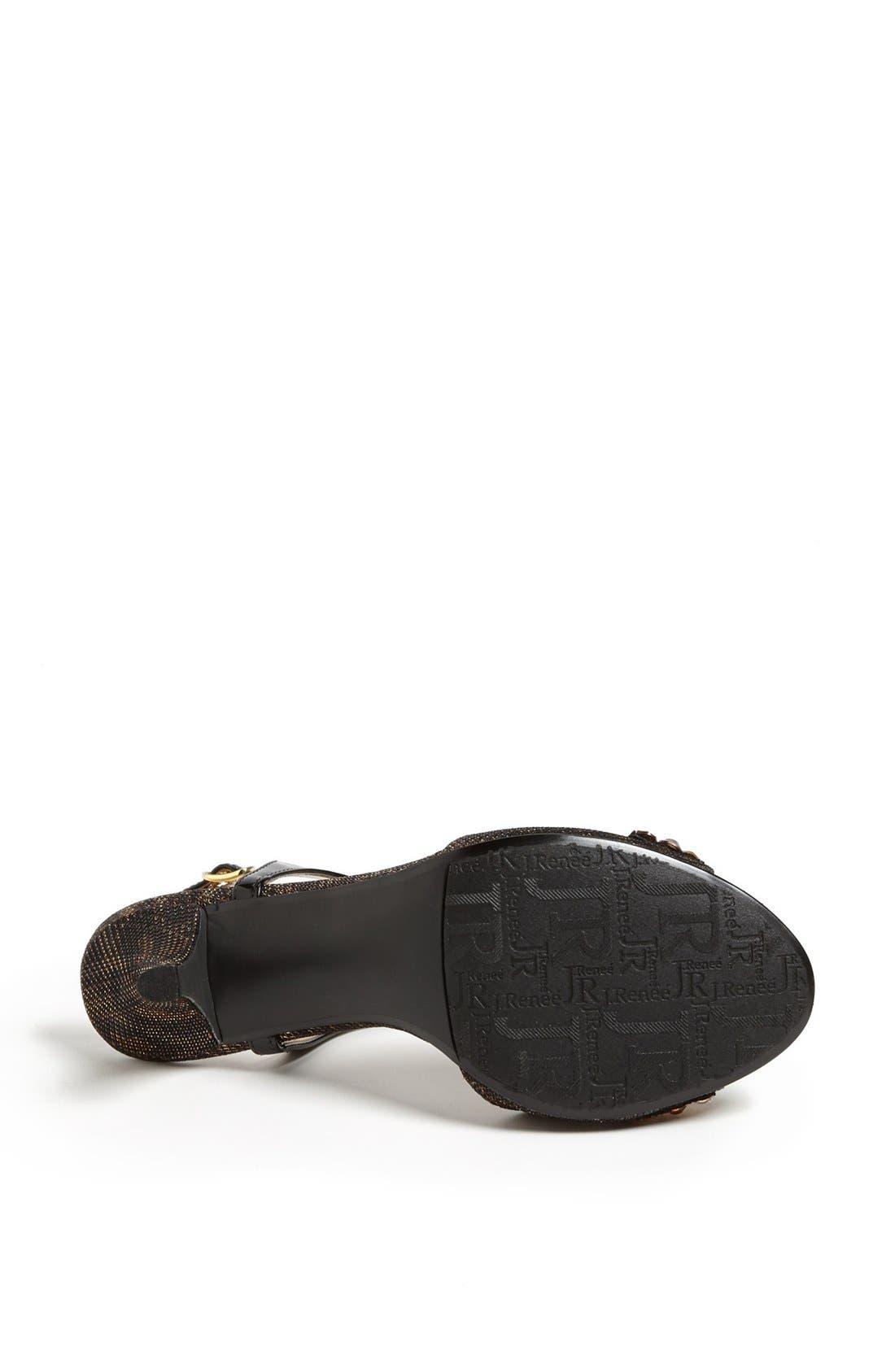 Alternate Image 4  - J. Renee 'Raspy' Sandal (Online Only)