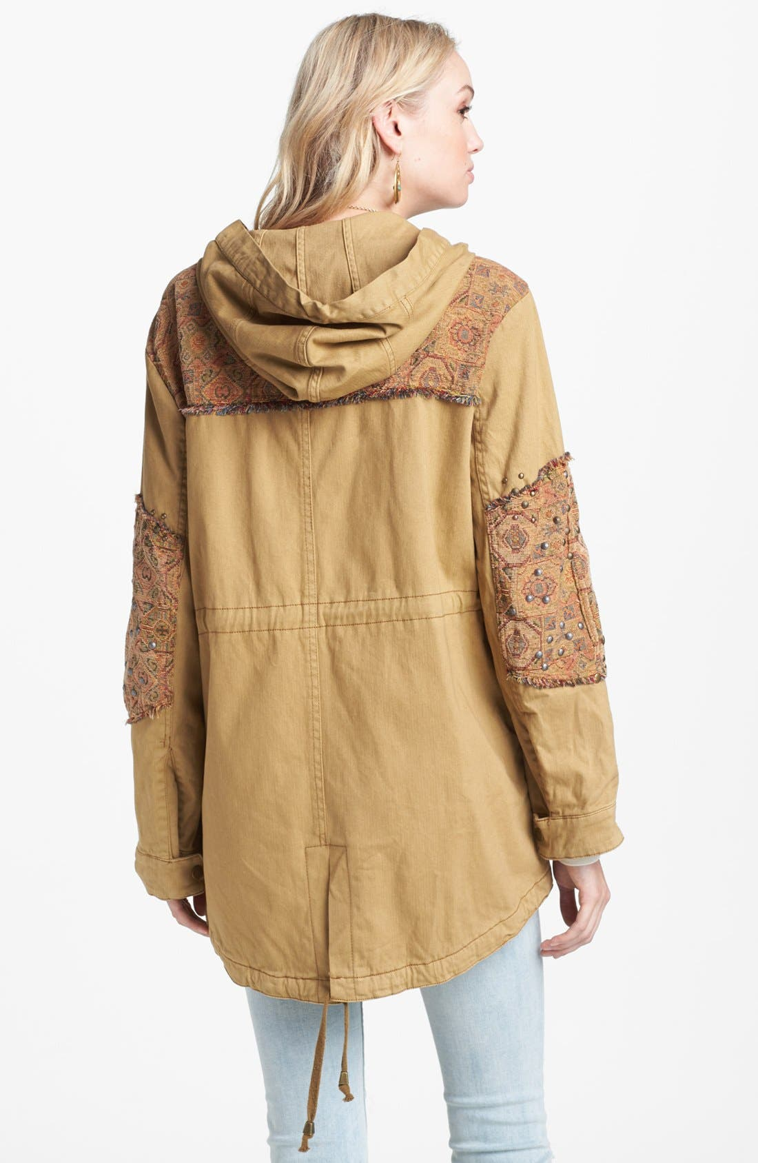 Alternate Image 2  - Free People 'Tapestry' Drawstring Jacket