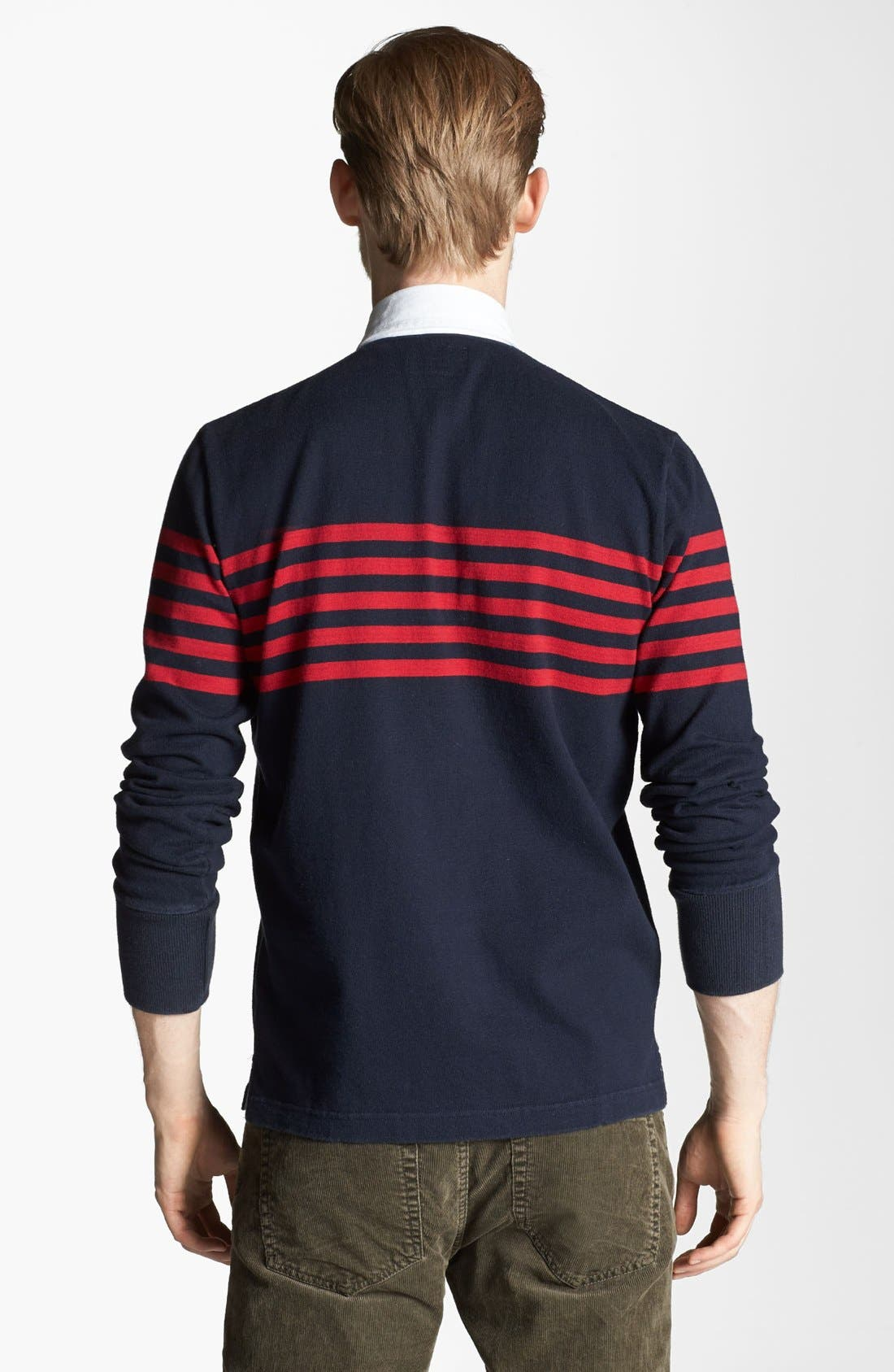 Alternate Image 2  - Gant by Michael Bastian 'Heavy Rugger' Long Sleeve Polo