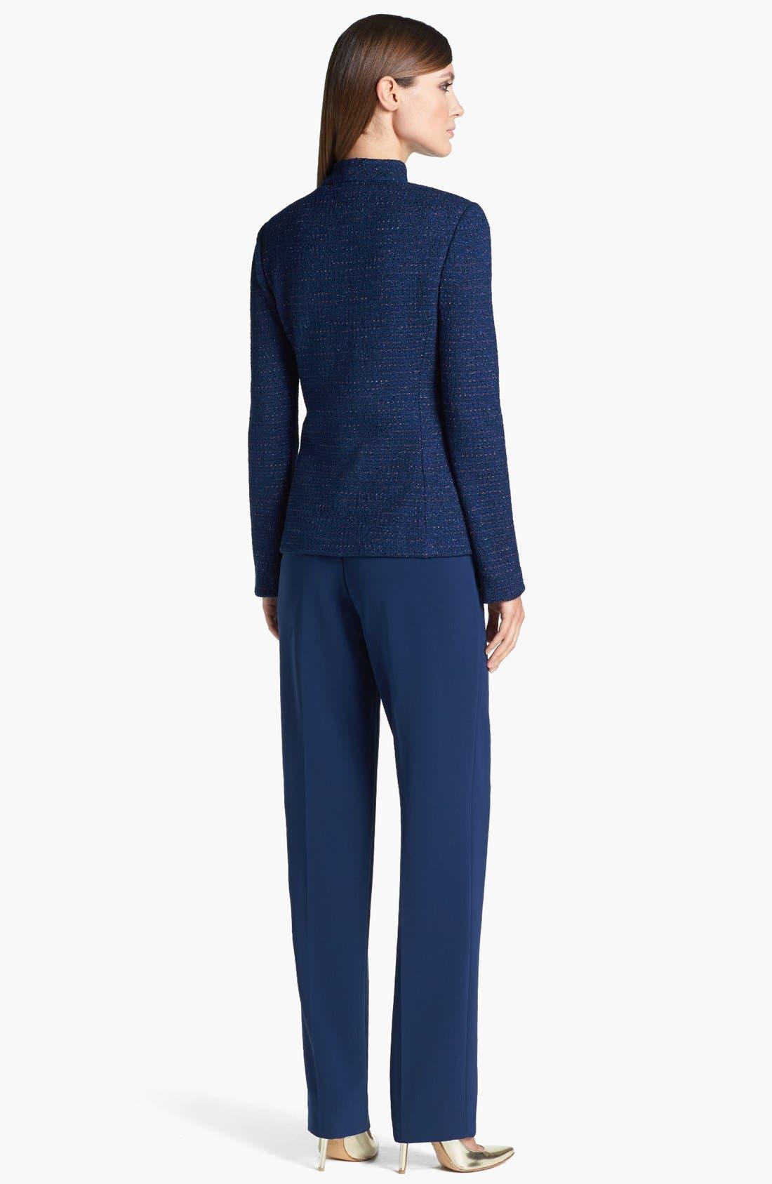 Alternate Image 3  - St. John Collection Novelty Dot Tweed Fitted Jacket