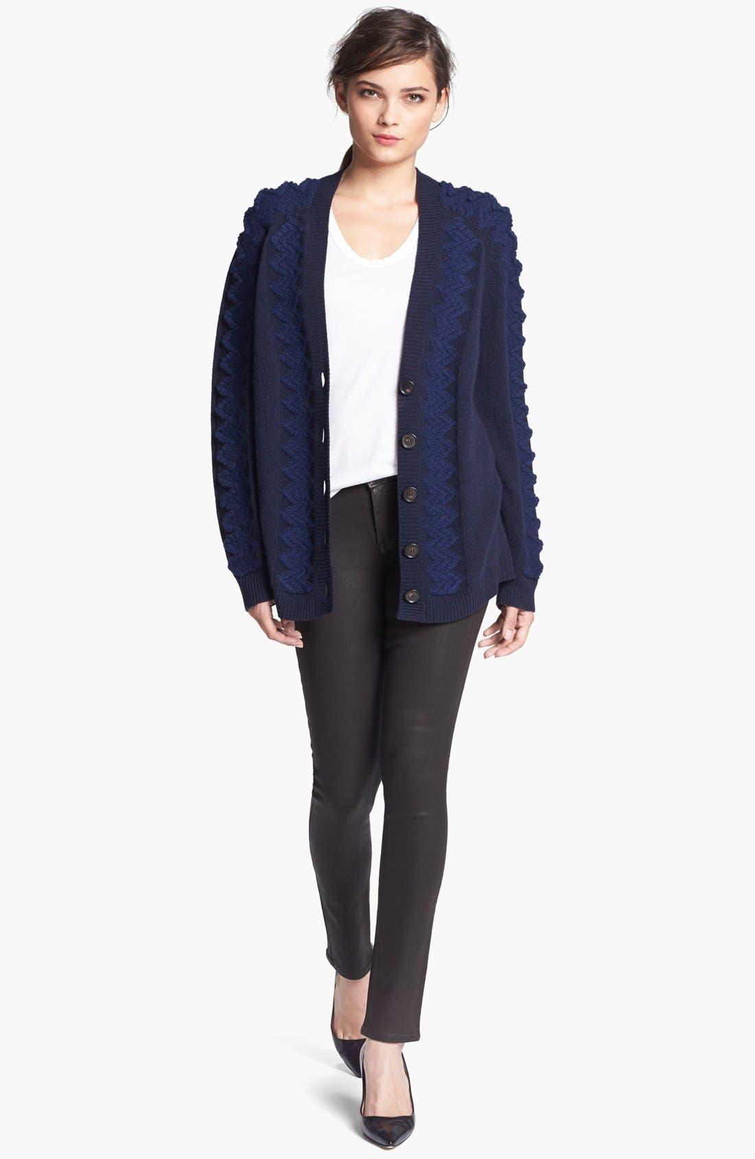 Alternate Image 2  - Theyskens' Theory 'Karima Yara' Wool Cardigan