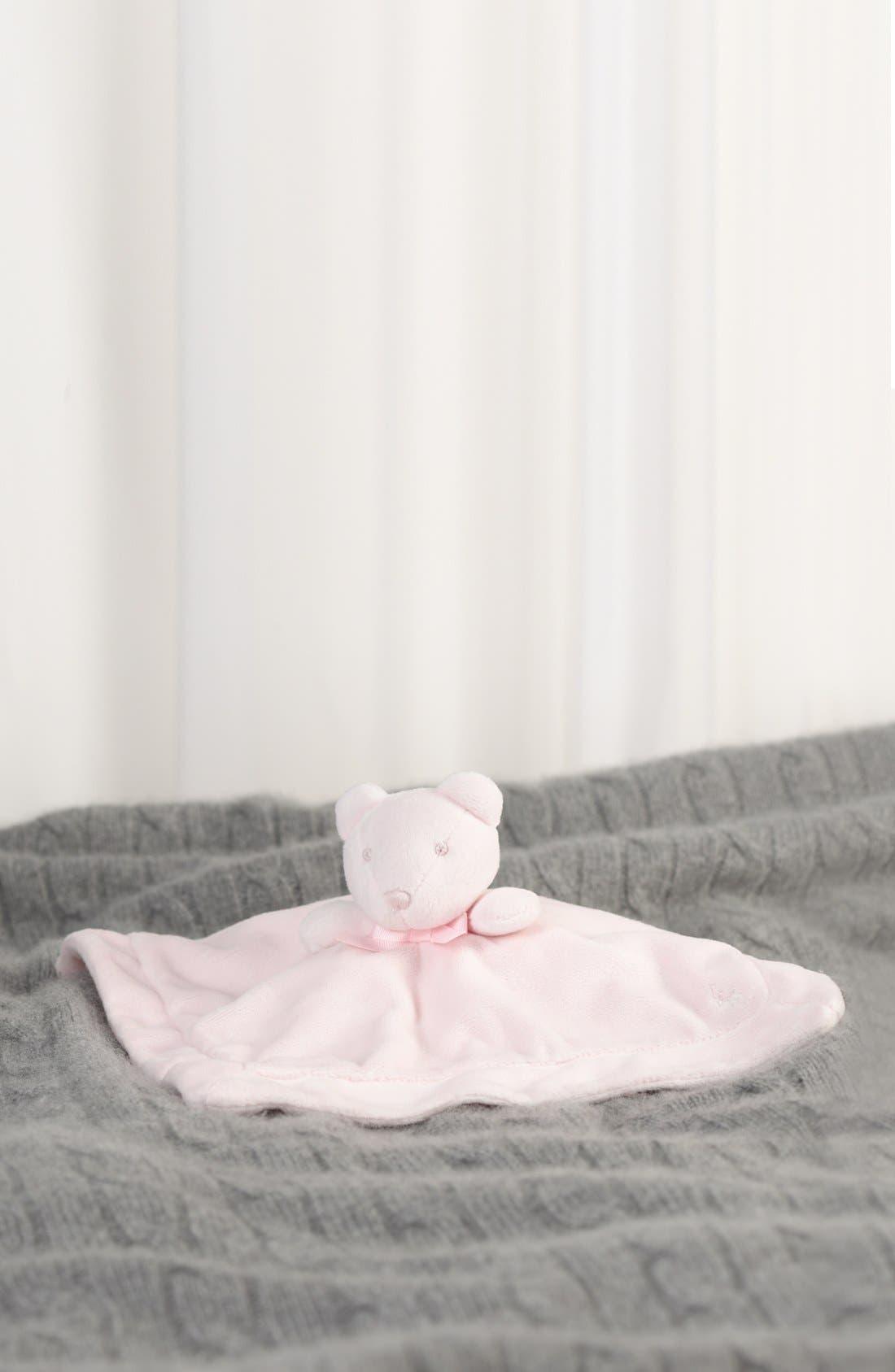 Alternate Image 2  - Ralph Lauren Plush Bear Blanket
