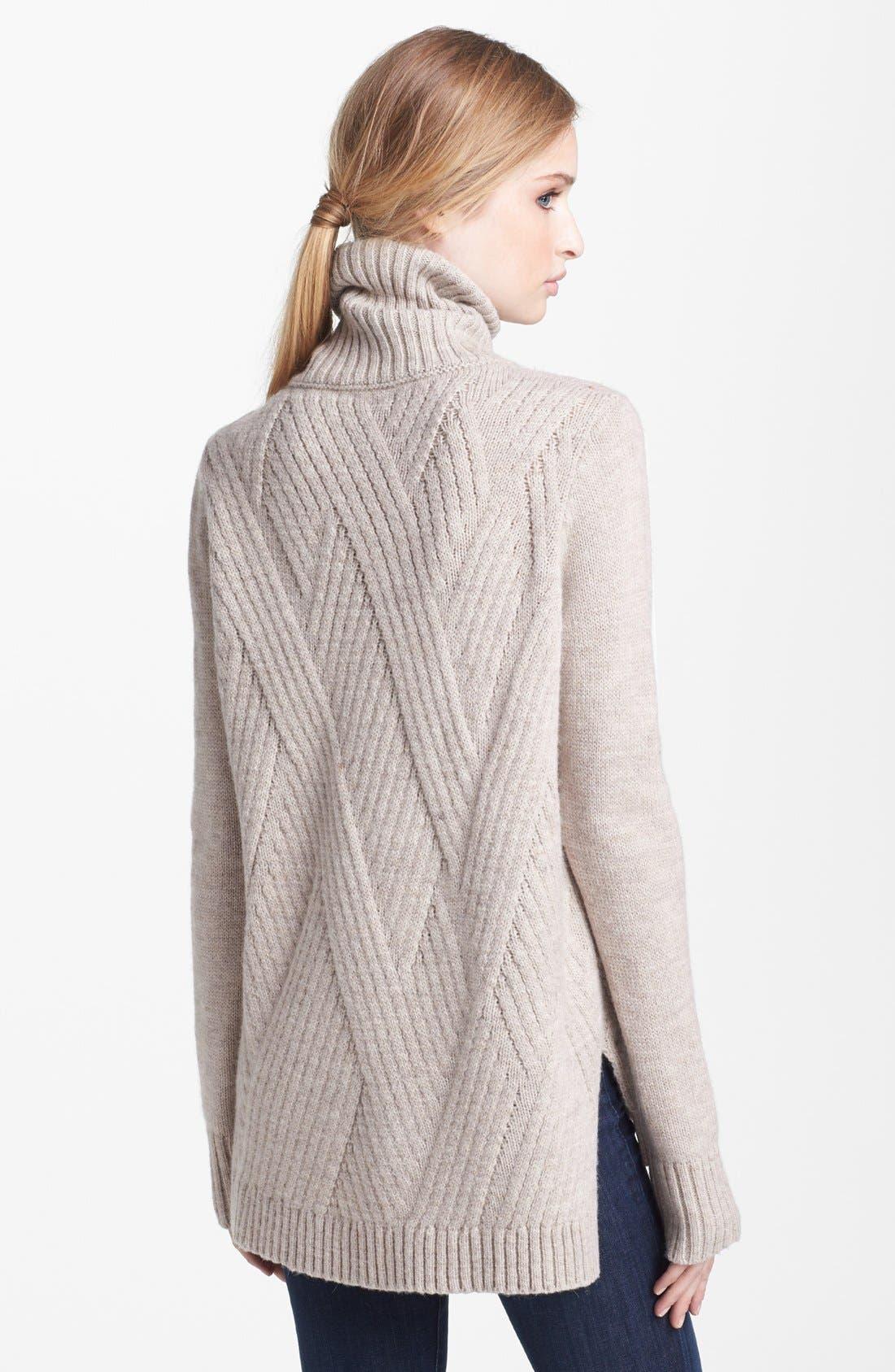 Alternate Image 2  - Vince 'Travelling' Ribbed Turtleneck Sweater
