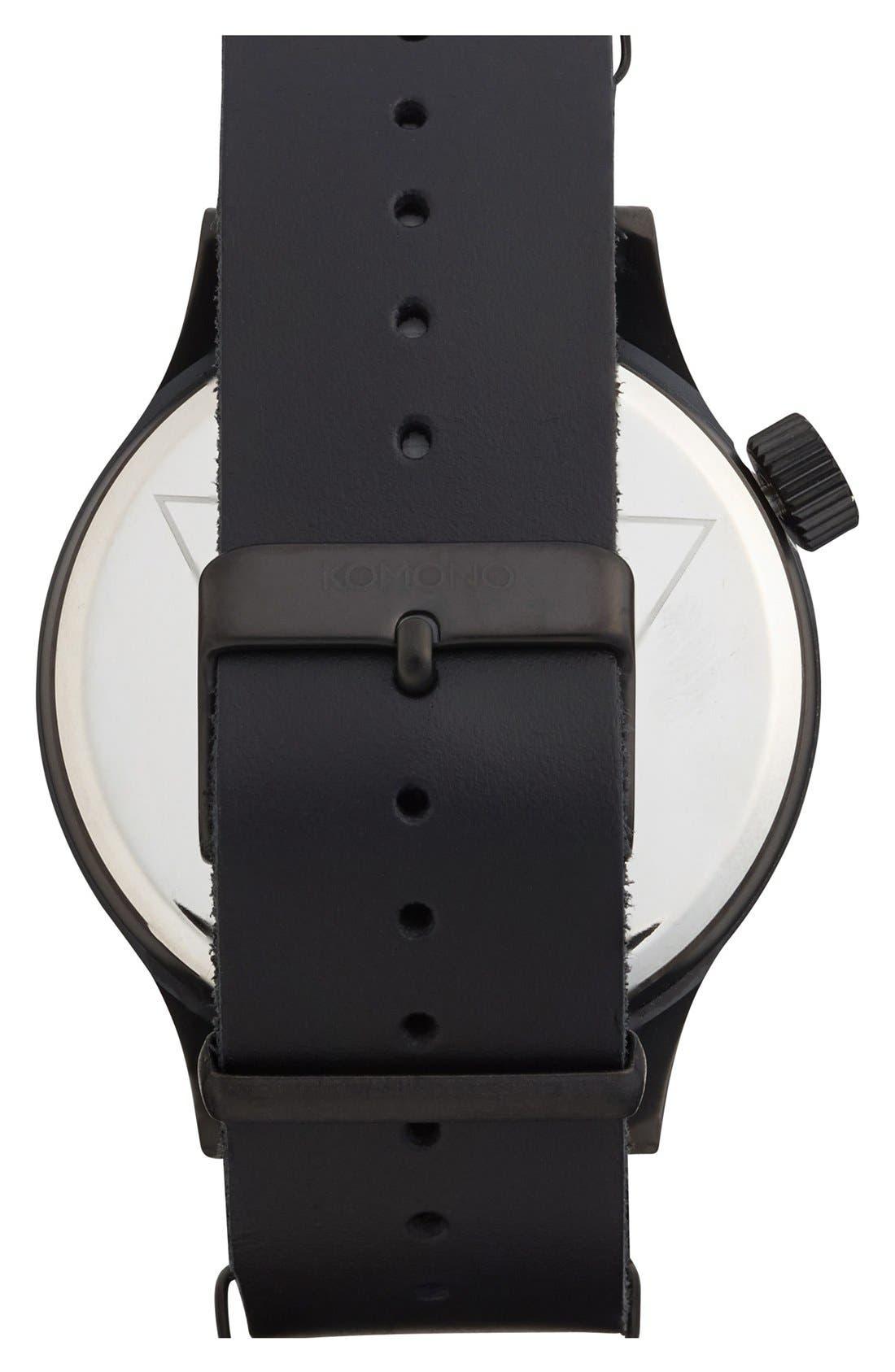 Alternate Image 2  - Komono 'Magnus' Watch, 46mm