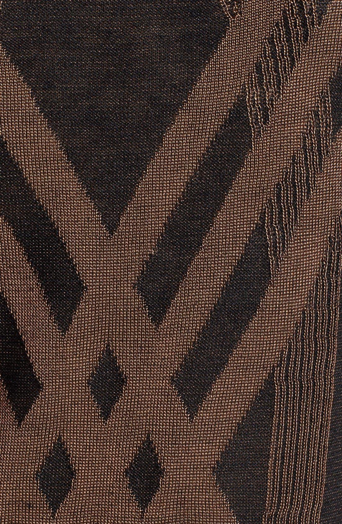 Alternate Image 3  - NIC+ZOE 'Criss Cross' Silk Blend Knit Top