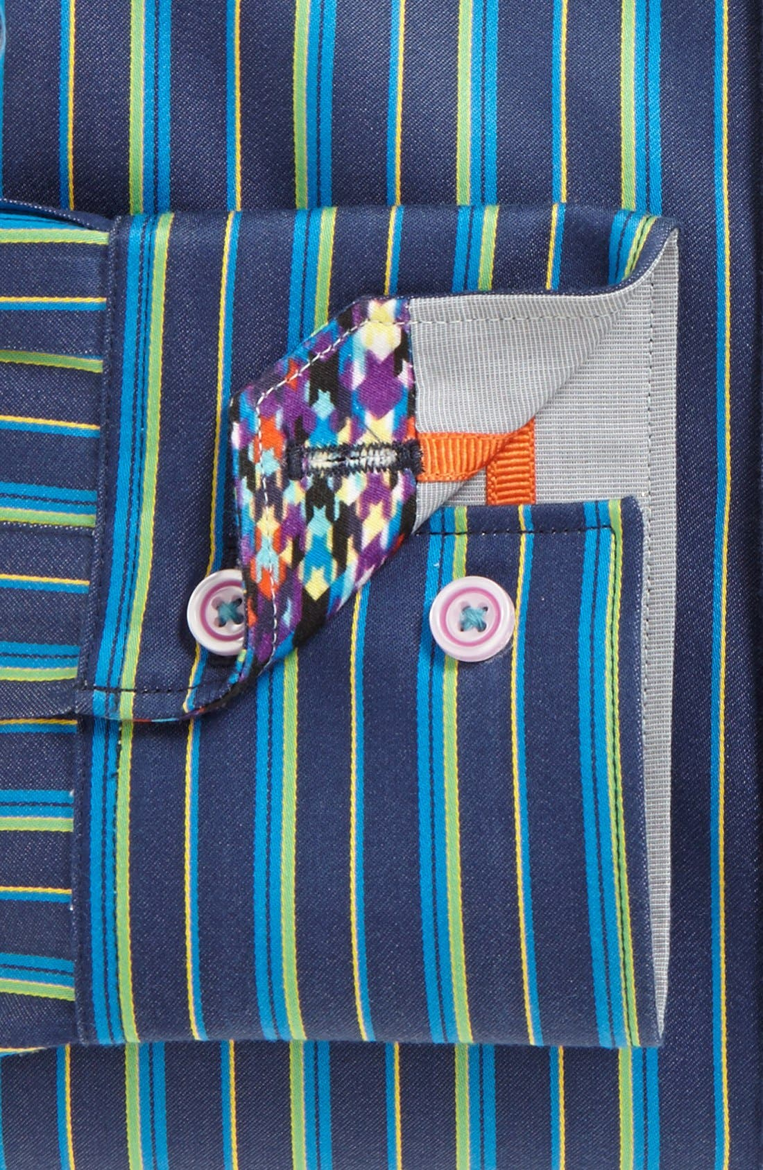 Alternate Image 5  - Robert Graham 'Skimmer' Tailored Fit Sport Shirt