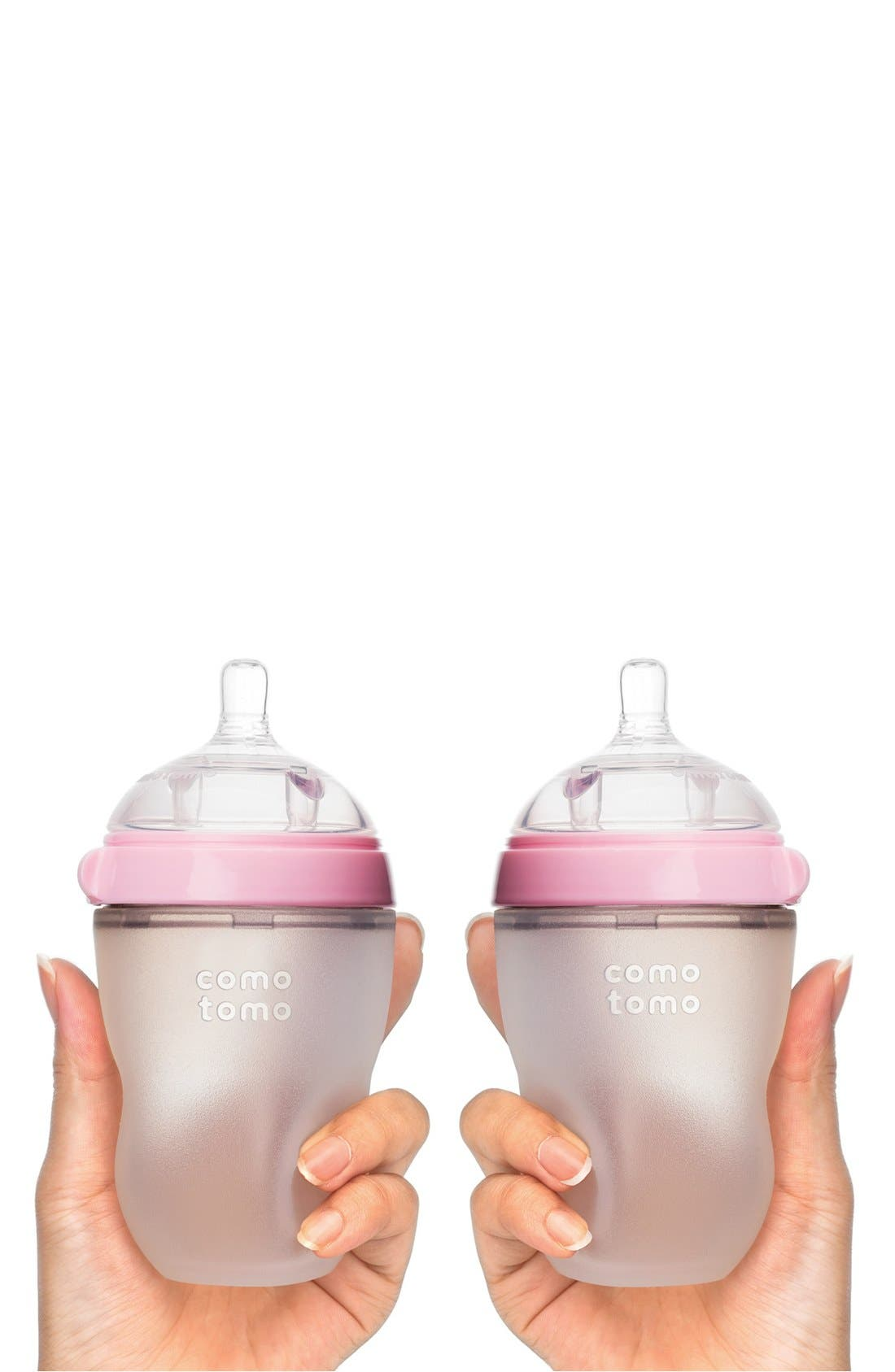 Alternate Image 2  - Comotomo Set of 2 Baby Bottles