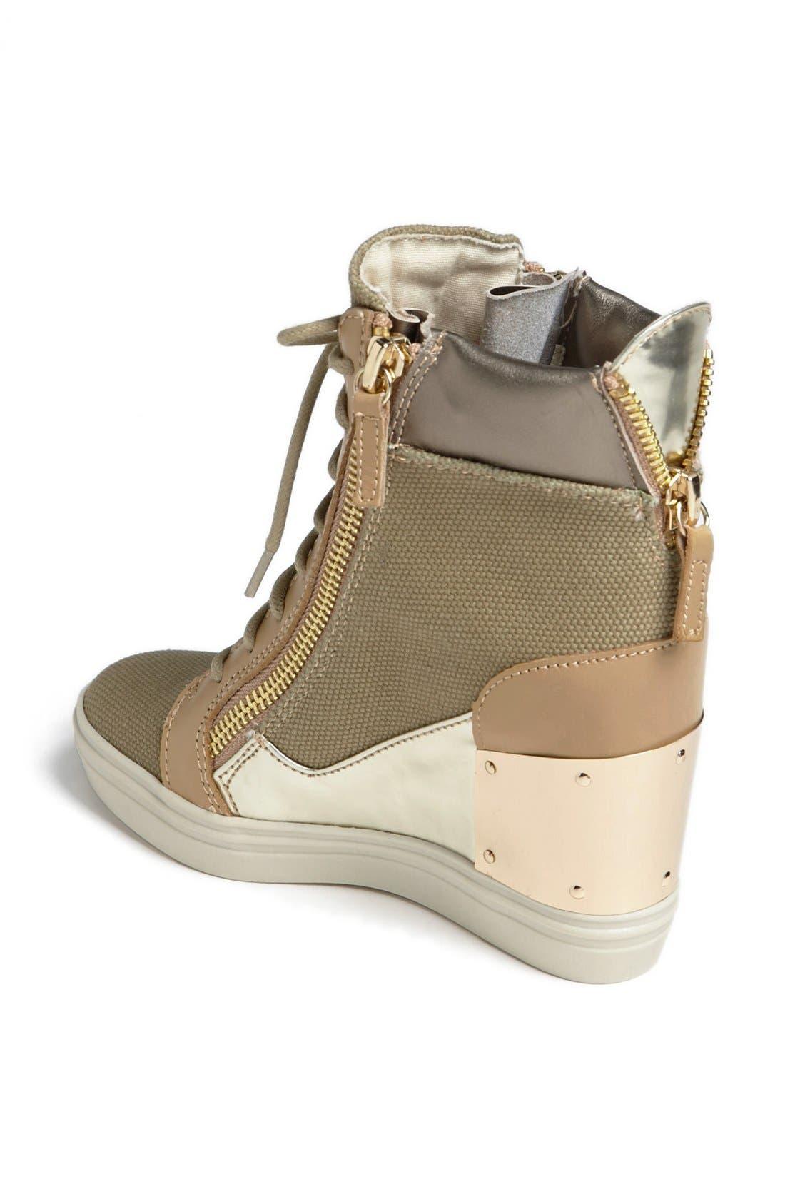 Alternate Image 2  - Steve Madden 'Lexing' Wedge Sneaker