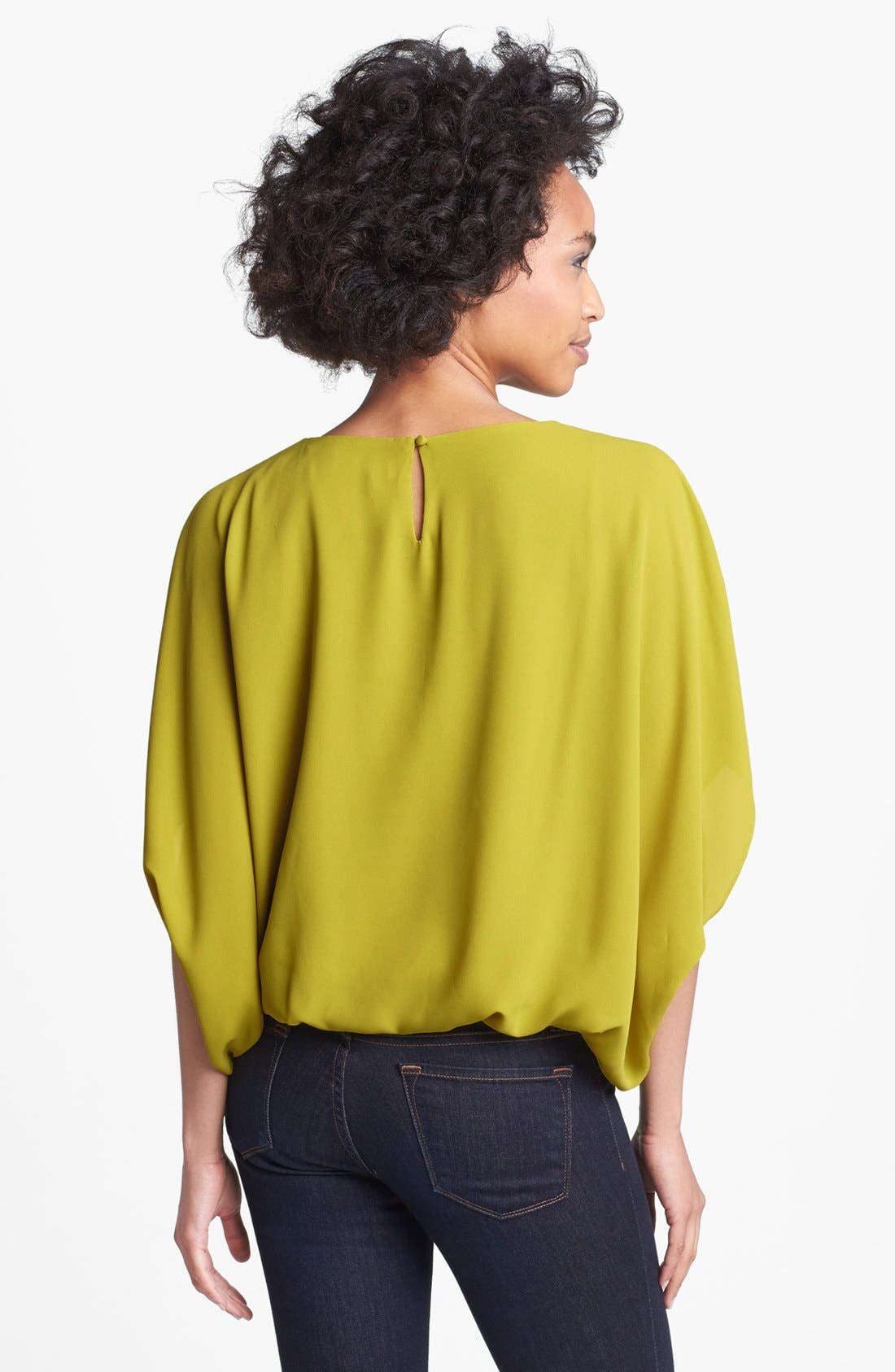 Alternate Image 2  - Vince Camuto Batwing Blouse