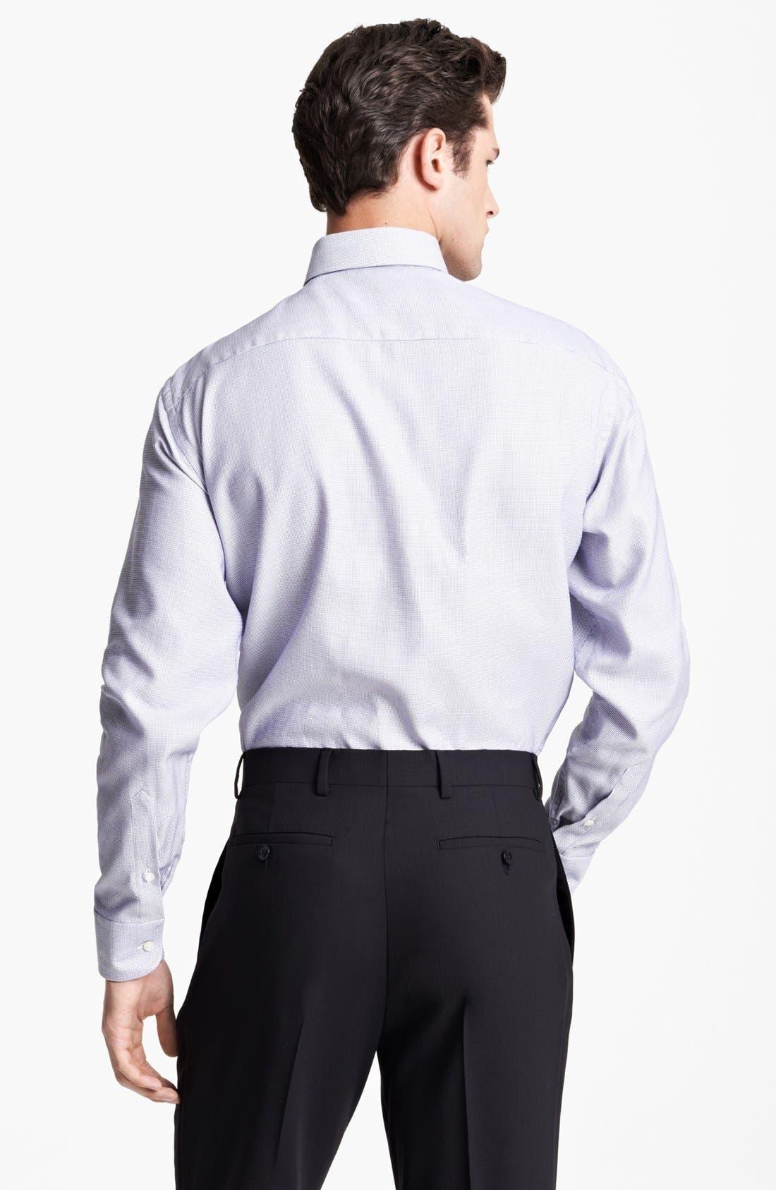 Alternate Image 2  - Armani Collezioni Textured Dress Shirt
