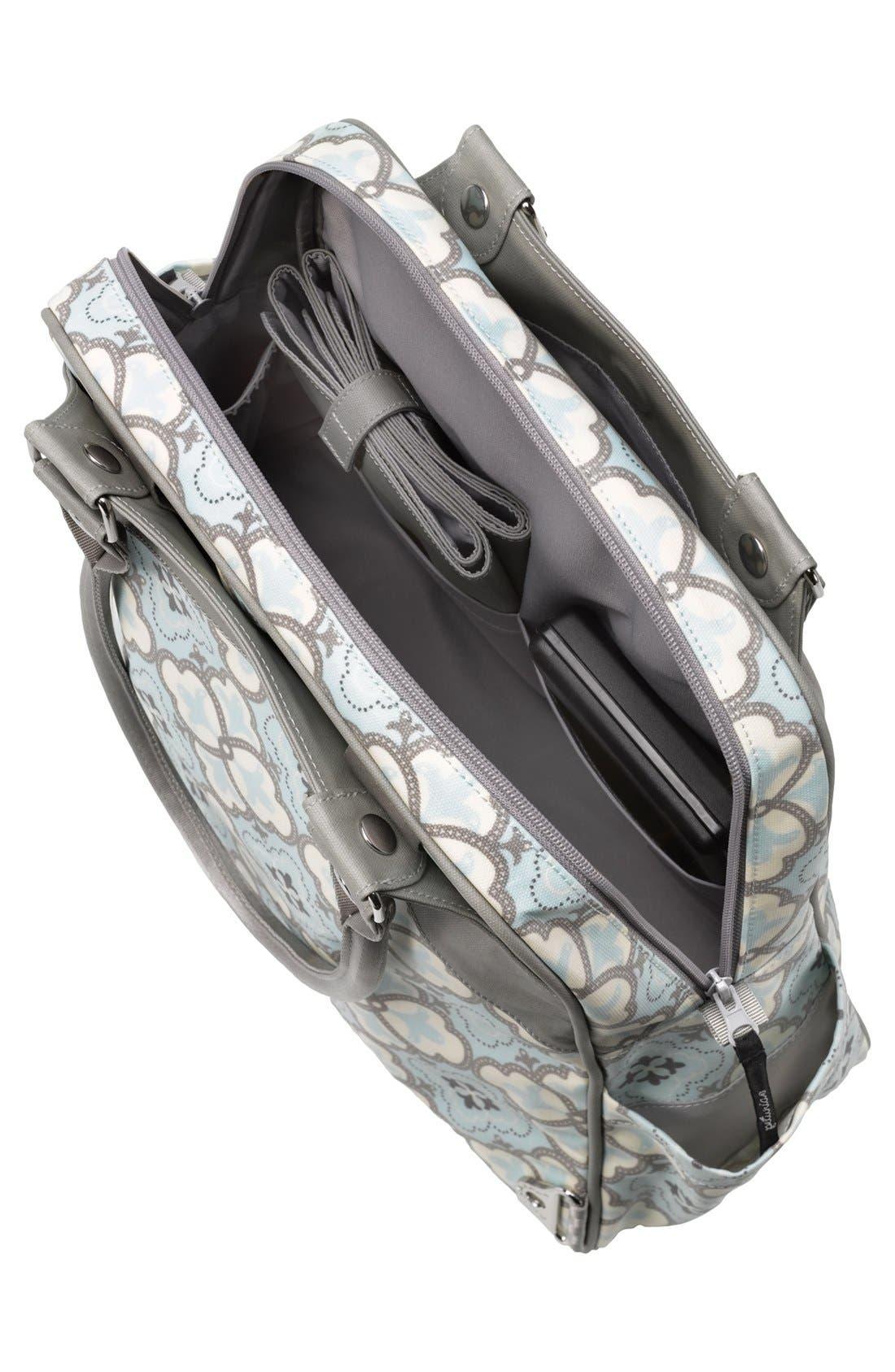 Alternate Image 3  - Petunia Pickle Bottom 'Sashay Satchel' Glazed Diaper Bag
