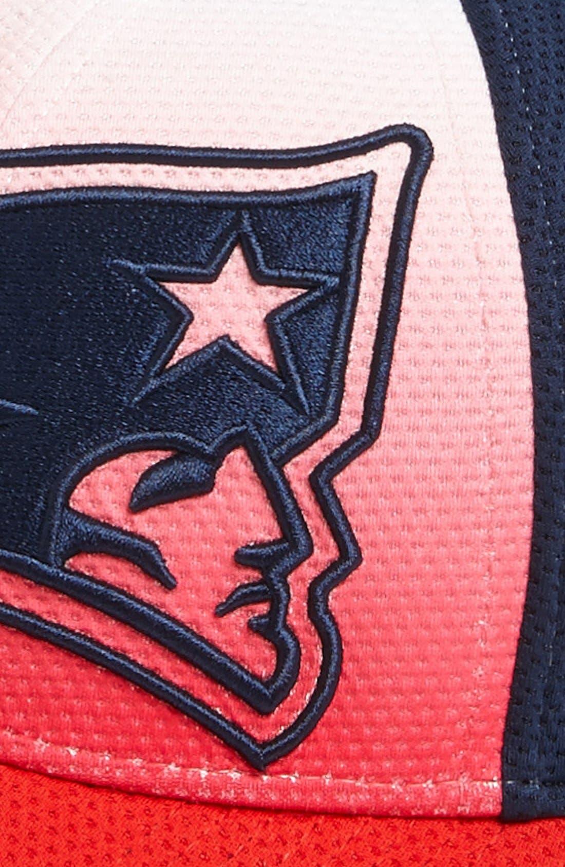 Alternate Image 3  - New Era Cap 'Gradation - New England Patriots' Baseball Cap