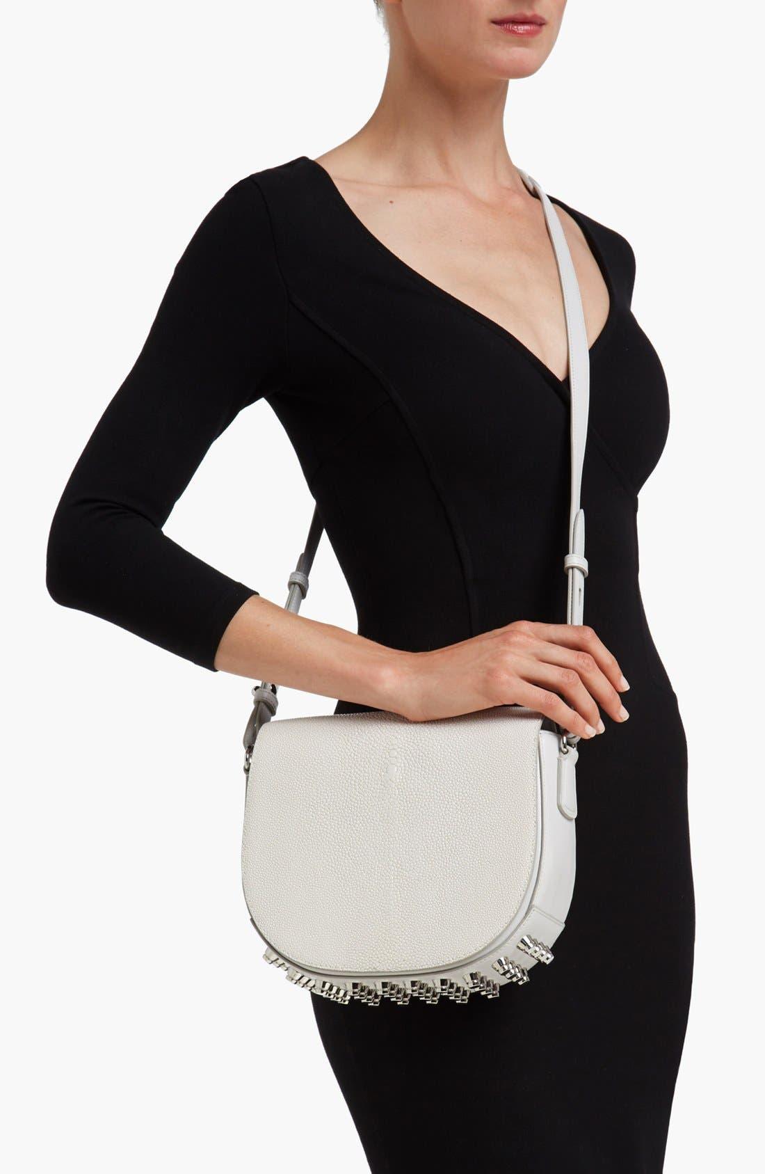 Alternate Image 2  - Alexander Wang 'Lia Stingray - Small' Leather Crossbody Bag