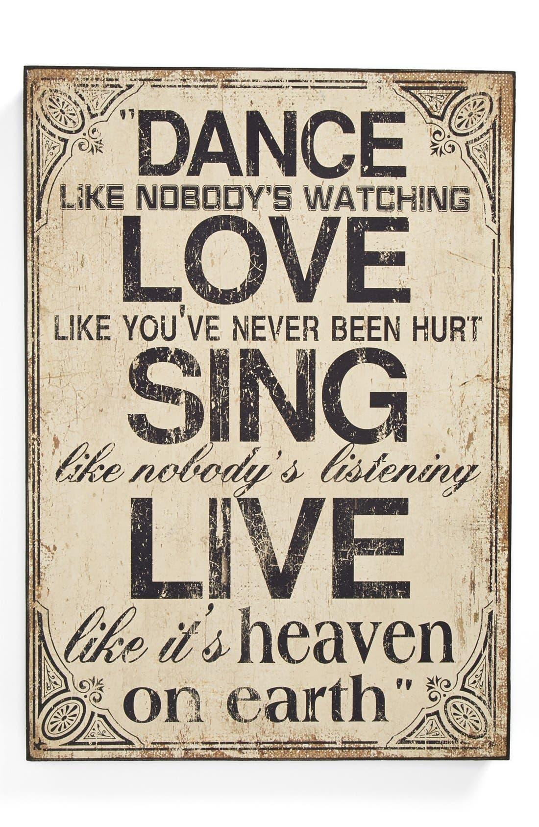 Main Image - 'Heaven on Earth' Plaque