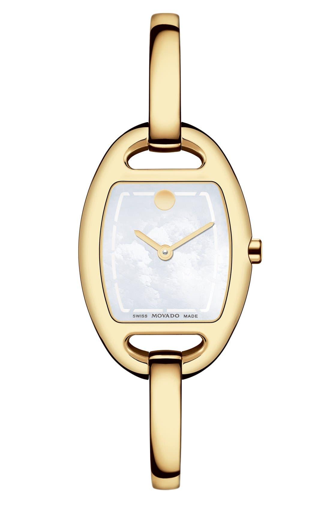 Alternate Image 1 Selected - Movado 'Miri' Bangle Watch, 24mm