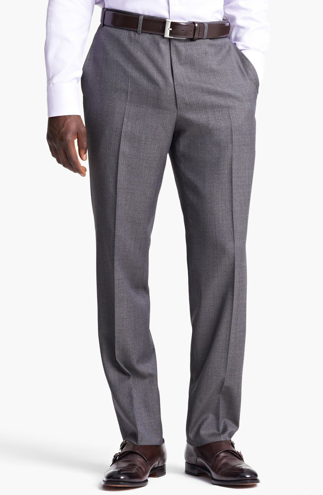 Alternate Image 5  - Canali Classic Fit Stripe Suit