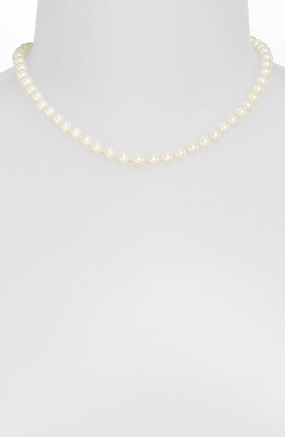 Main Image - Lauren Ralph Lauren Glass Pearl Necklace
