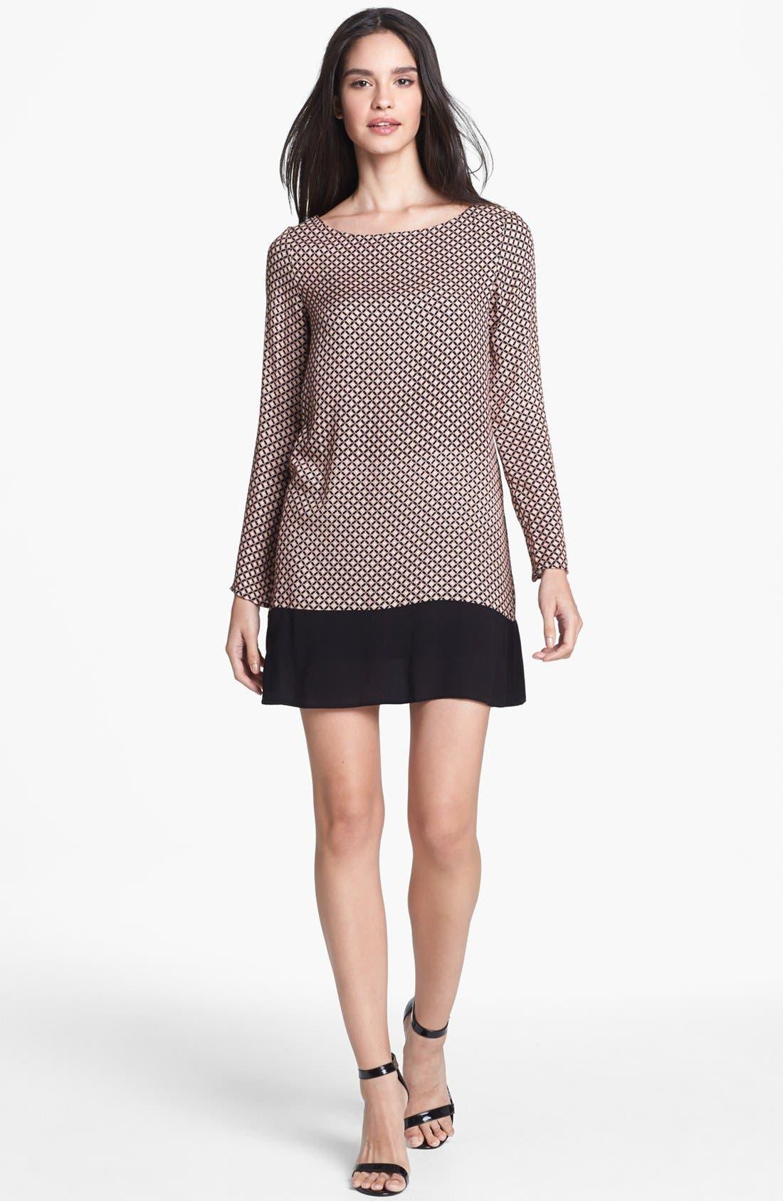 Alternate Image 1 Selected - Ella Moss Print Shift Dress