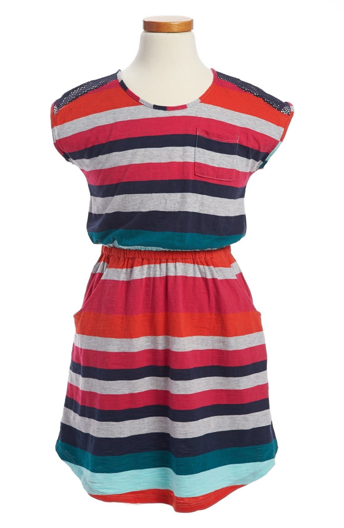 Alternate Image 1 Selected - Roxy 'First Glance' Knit Dress (Big Girls)
