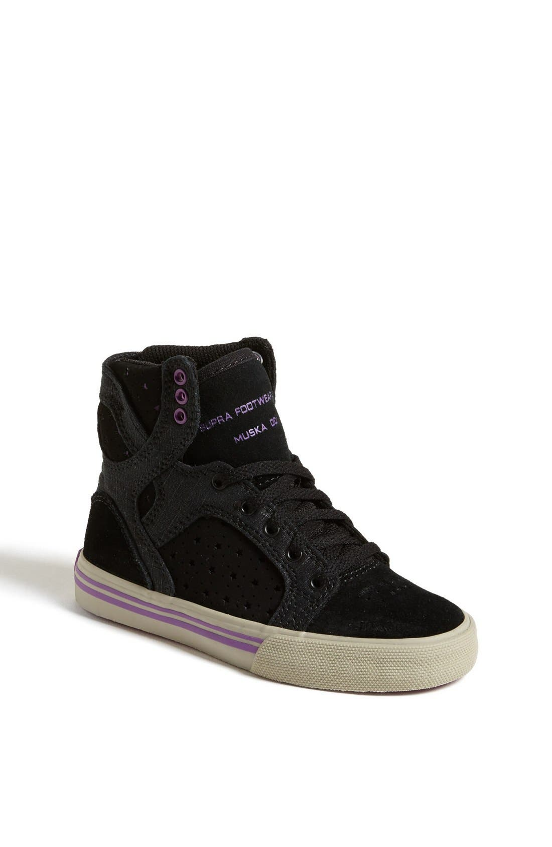 Alternate Image 1 Selected - Supra 'Skytop' Sneaker (Toddler, Little Kid & Big Kid)