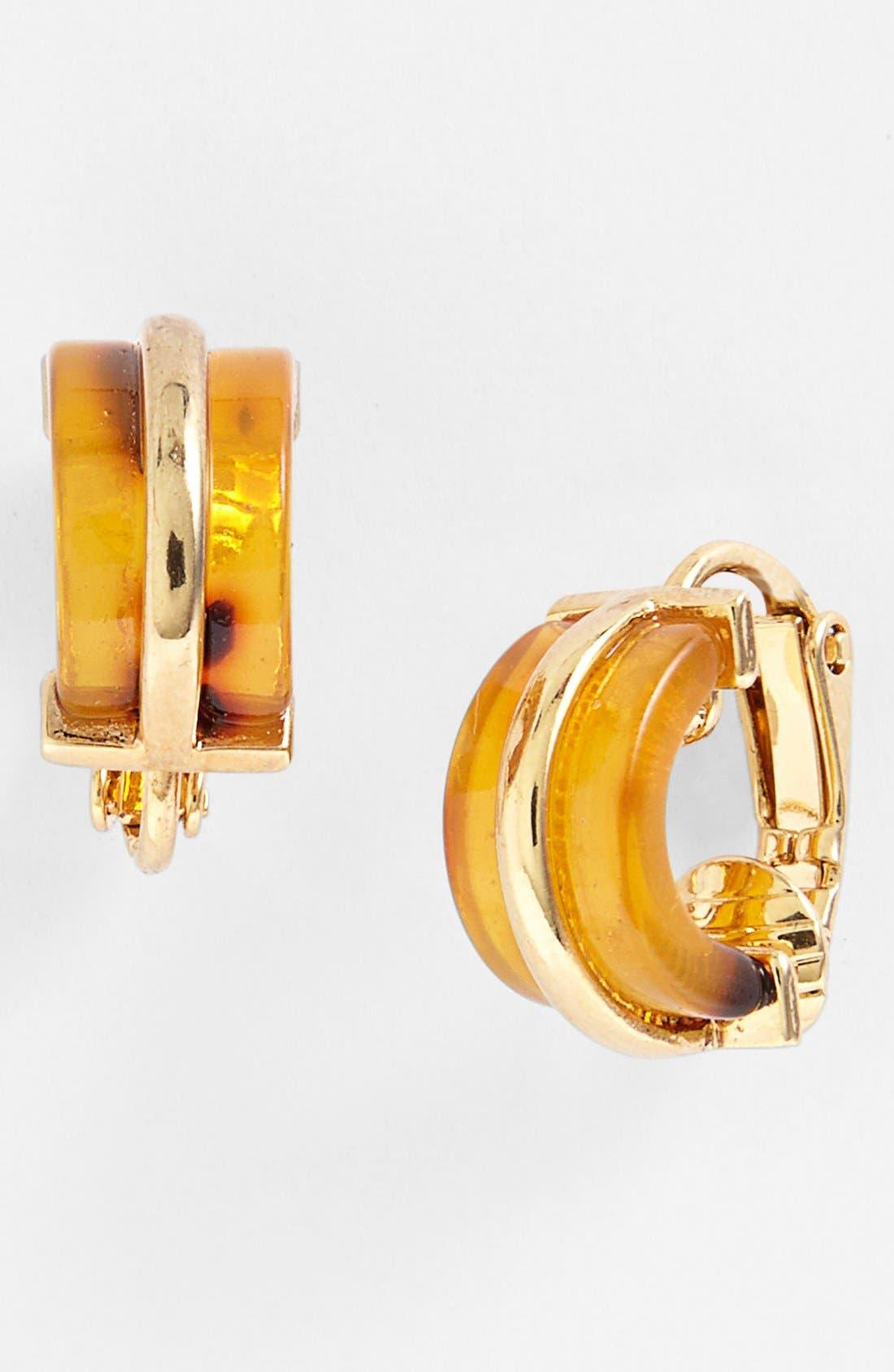 Main Image - Lauren Ralph Lauren Small Clip Earrings