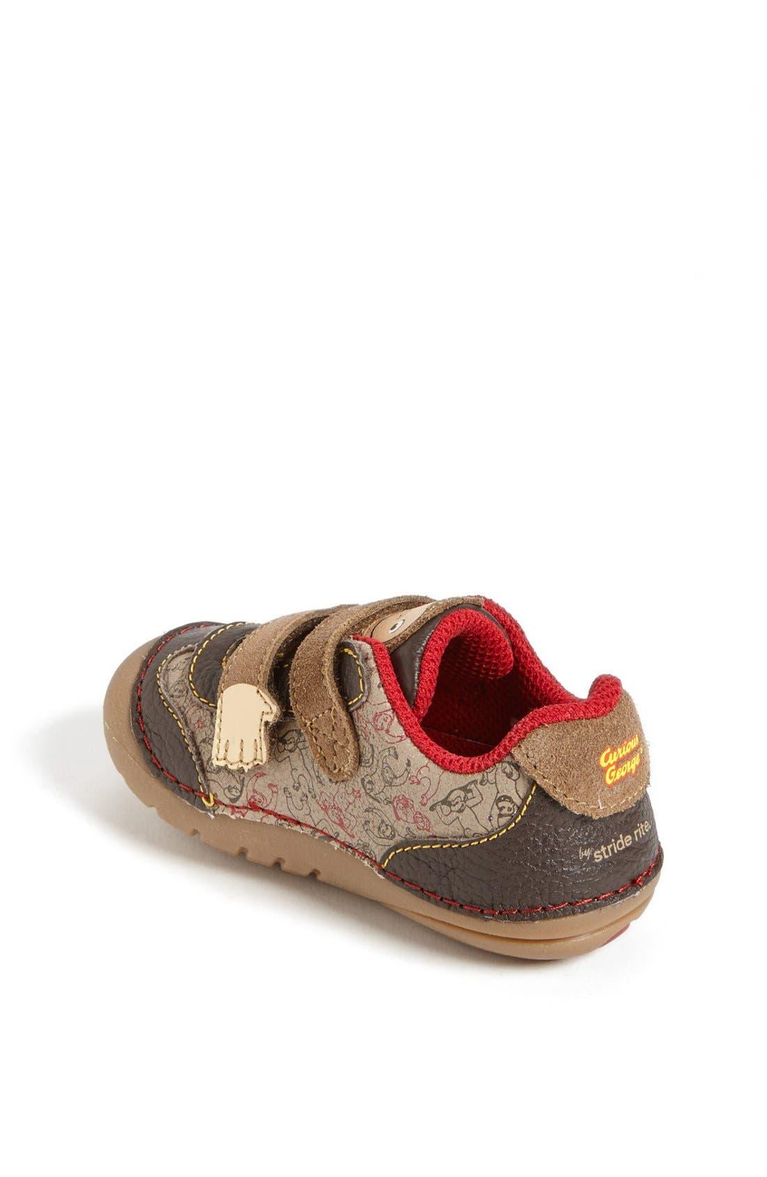 Alternate Image 2  - Stride Rite 'Curious George' Sneaker (Baby & Walker)