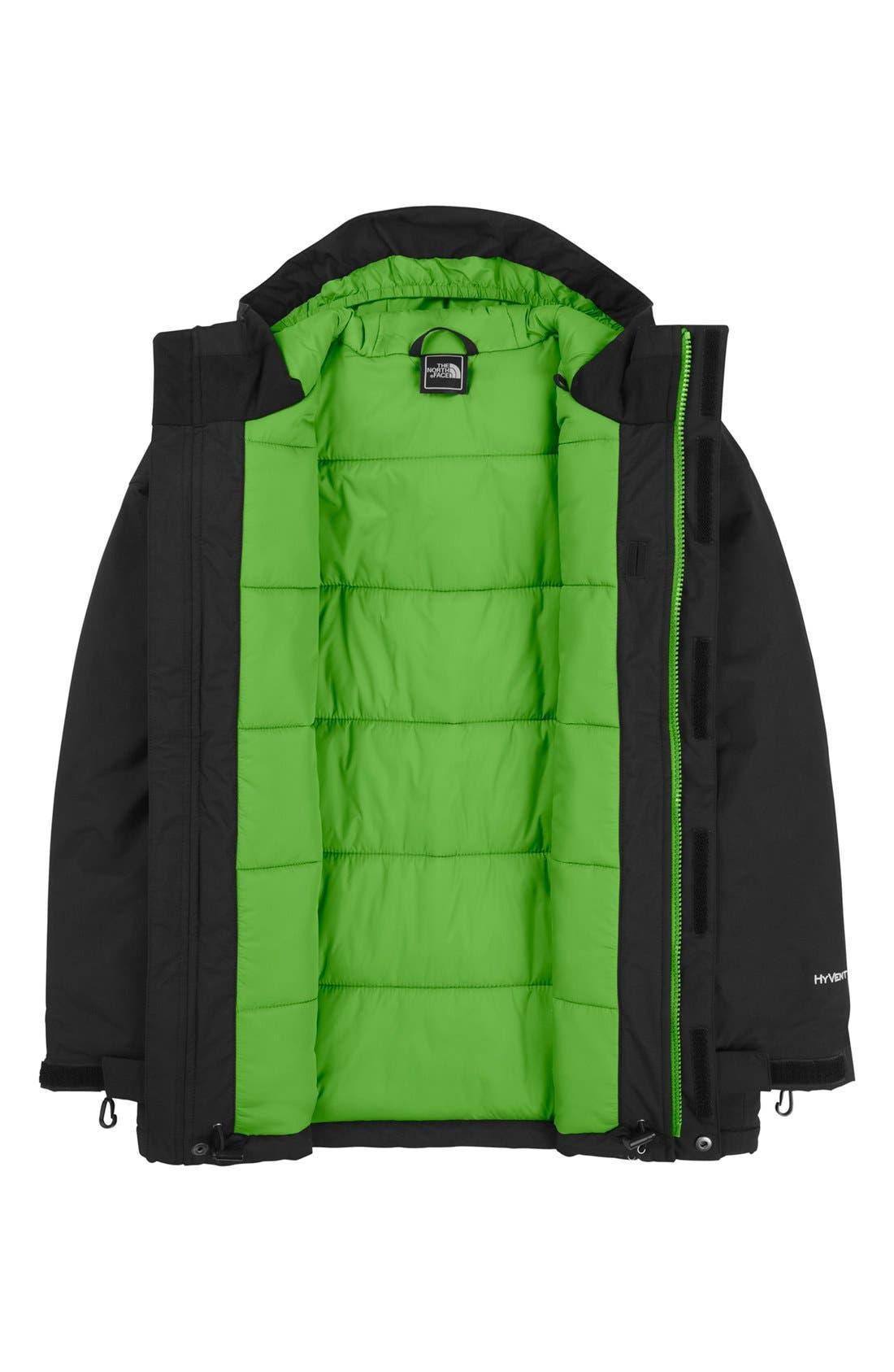 Alternate Image 2  - The North Face 'Navigate' Waterproof Heatseeker™ Aero Snowsport Jacket (Big Boys)