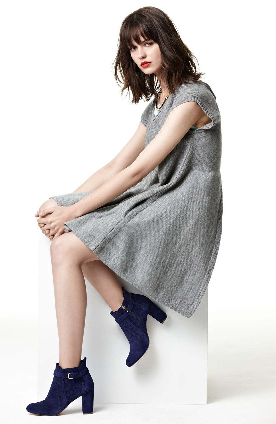 Alternate Image 5  - French Connection Trapeze Wool Sweater Dress