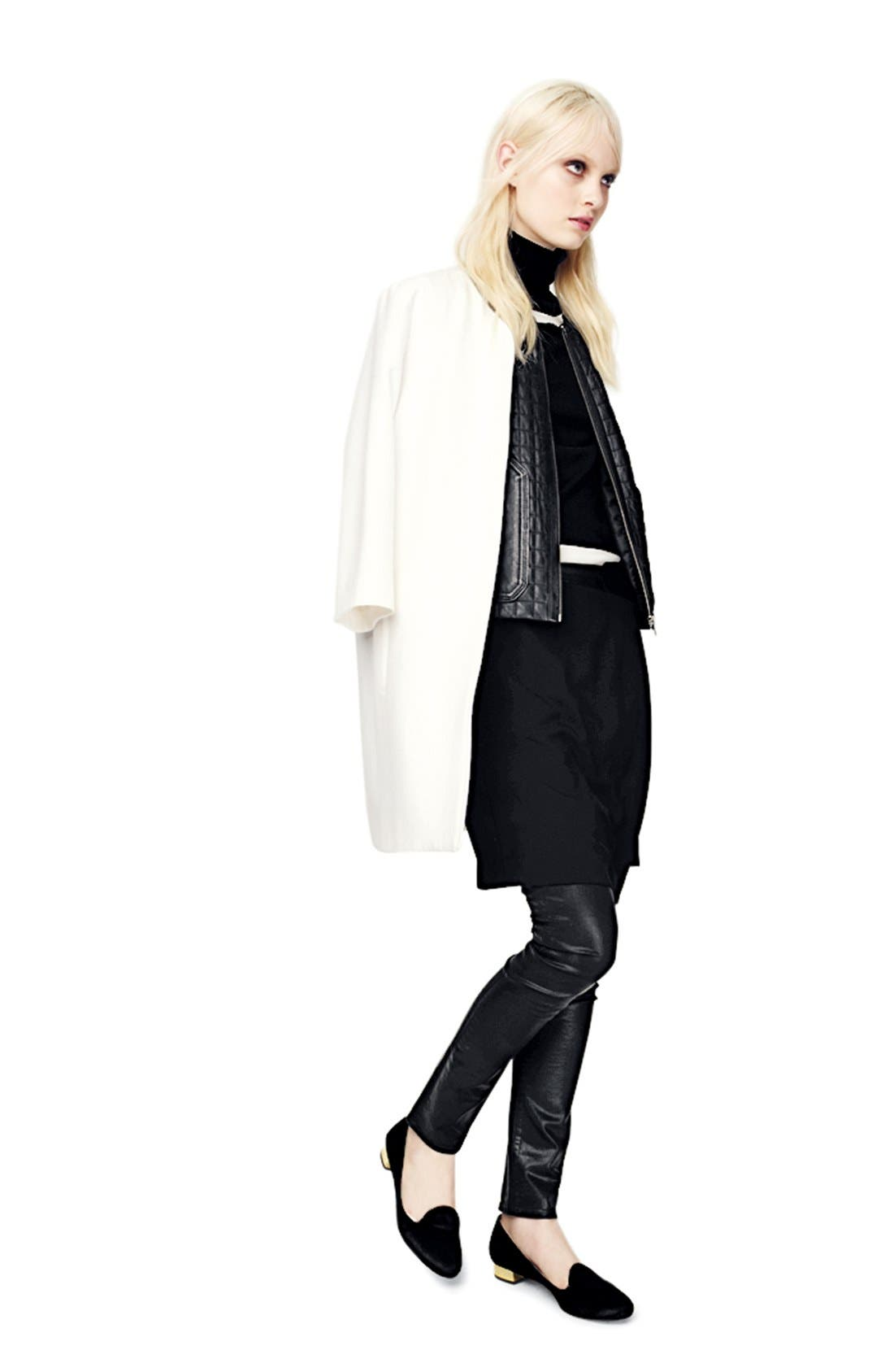 Alternate Image 6  - Trouvé Asymmetrical Faux Wrap Skirt