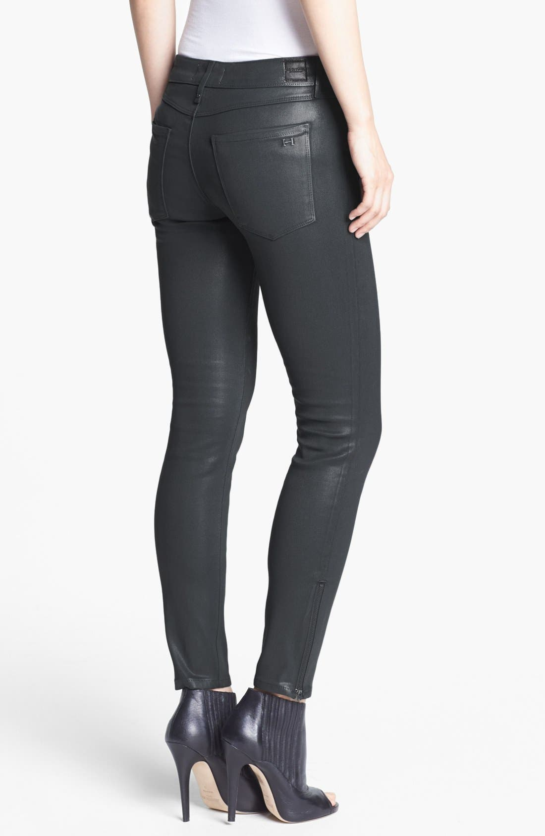 Alternate Image 2  - Habitual 'Amalia' Coated Skinny Jeans
