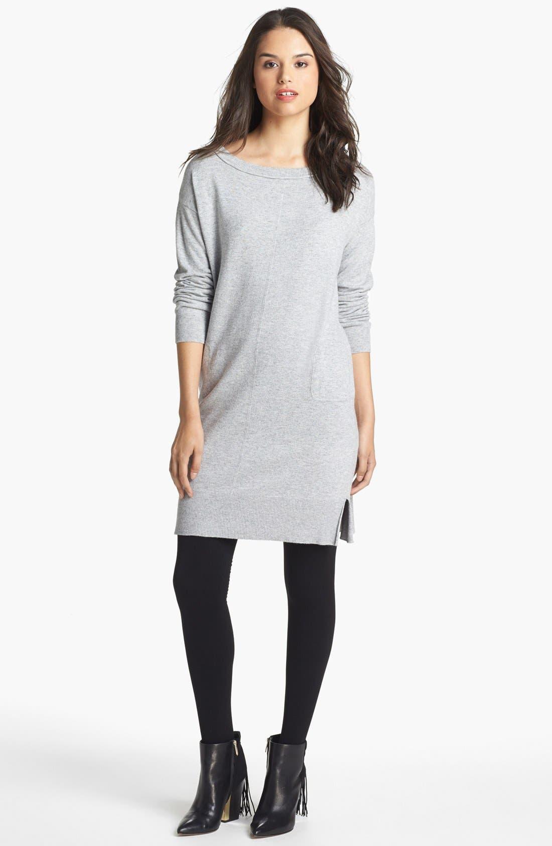 Main Image - Press Pocket Detail Sweater Dress