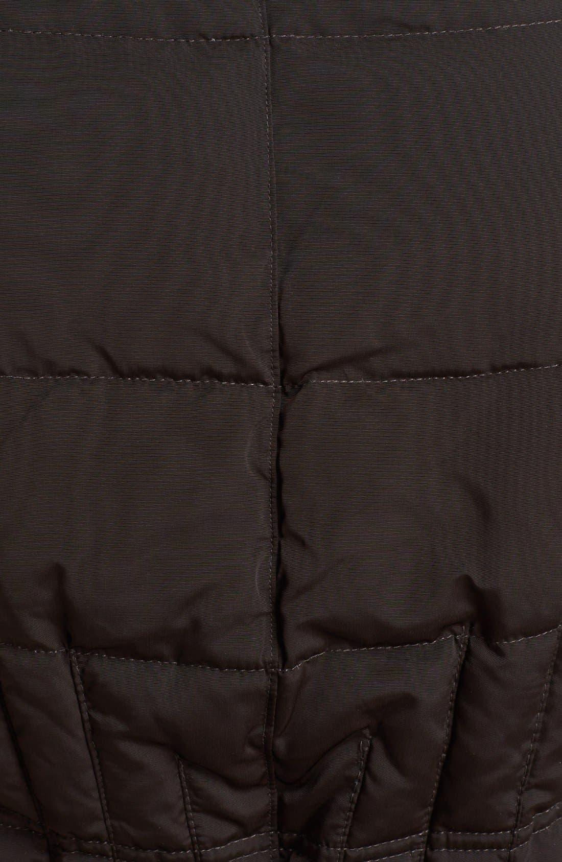 Alternate Image 3  - 1 Madison Genuine Fox & Faux Fur Trim Down Walking Coat