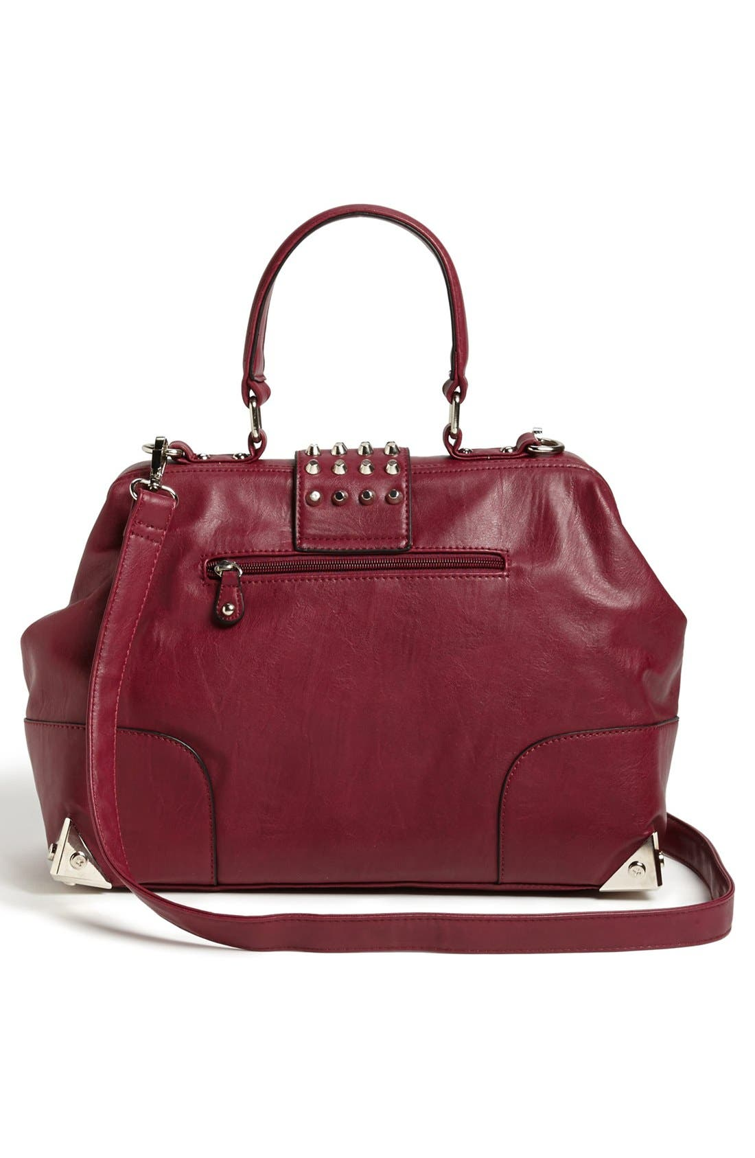 Alternate Image 4  - Emperia Faux Leather Frame Satchel (Juniors) (Online Only)
