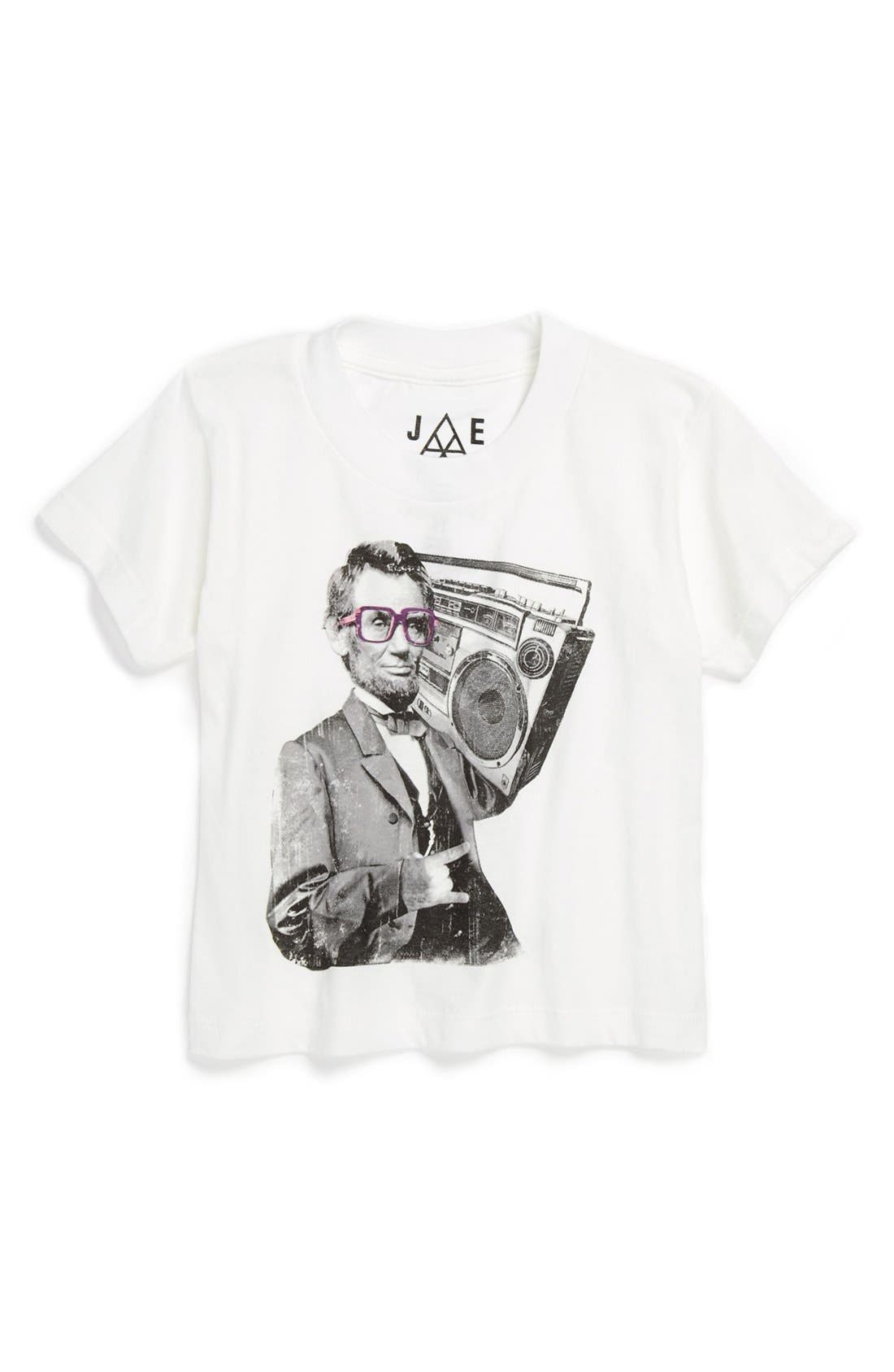 Alternate Image 1 Selected - Jem '3 Bad Lincoln' T-Shirt (Toddler Boys)