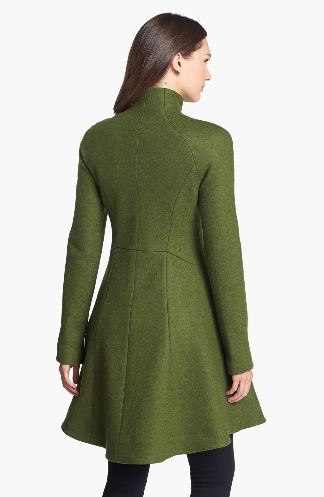 Alternate Image 2  - Nanette Lepore 'Skyscape' Flared Wool Coat