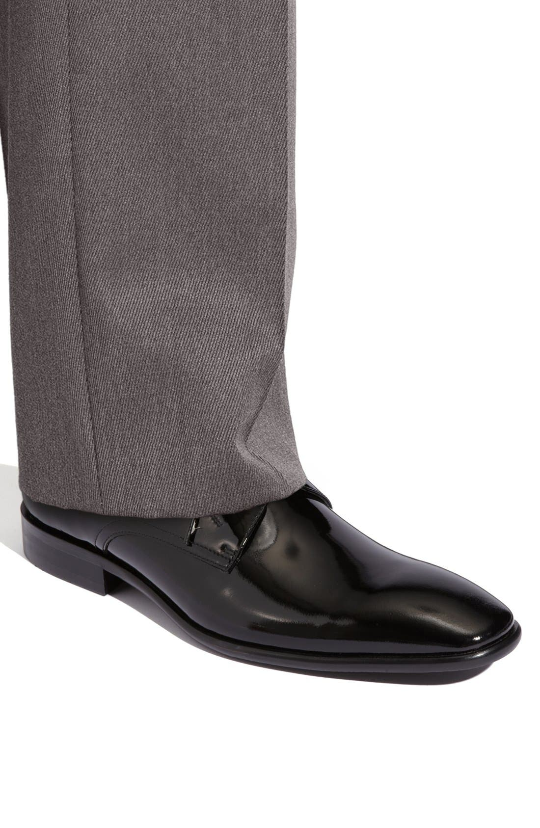 Alternate Image 5  - Calibrate 'Oscar' Patent Leather Dress Shoe (Men)