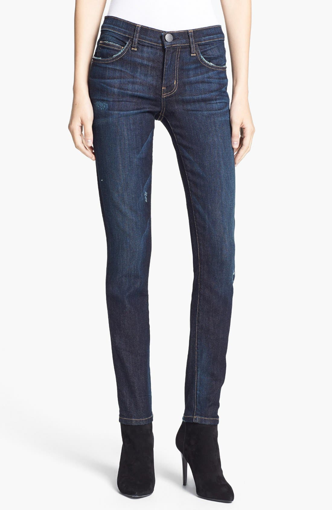 Alternate Image 1 Selected - Current/Elliott 'The Ankle Skinny' Jeans (Richmond)