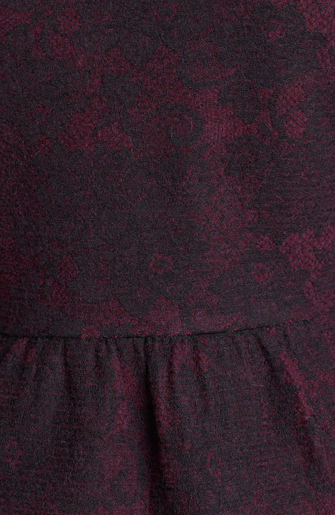 Alternate Image 5  - Classiques Entier® Merino & Lace Zip Cardigan