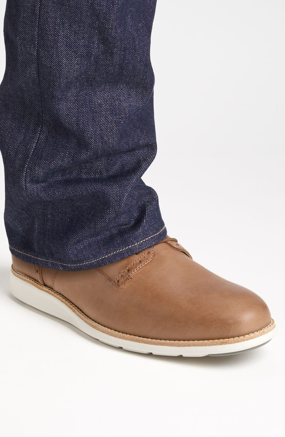 Alternate Image 6  - ECCO 'Clayton' Plain Toe Derby